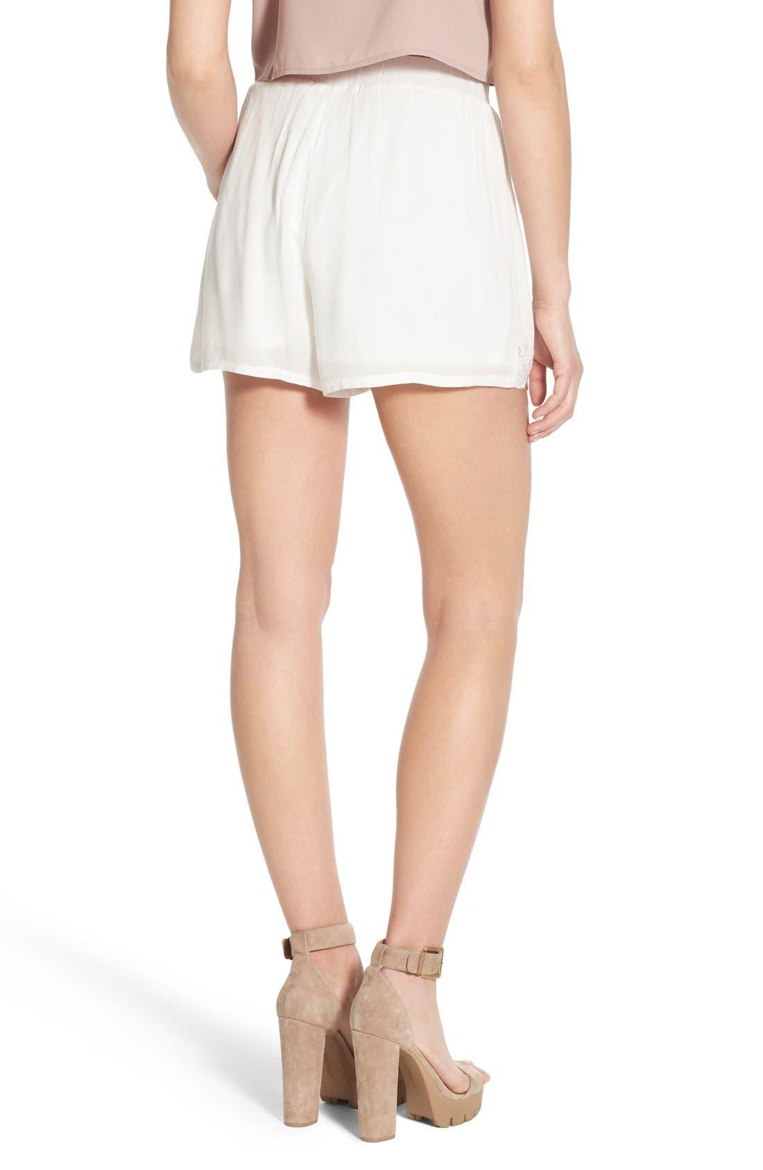 Alternate Image 2  - Glamorous Embroidered Shorts