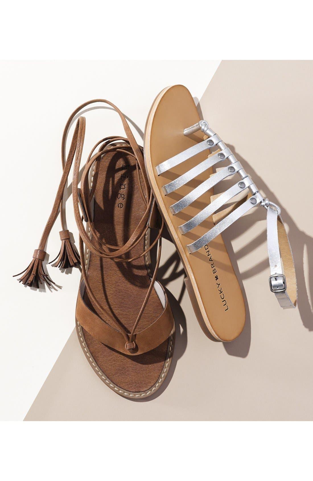 Alternate Image 5  - Hinge 'Avery' Wraparound Strap Sandal (Women)