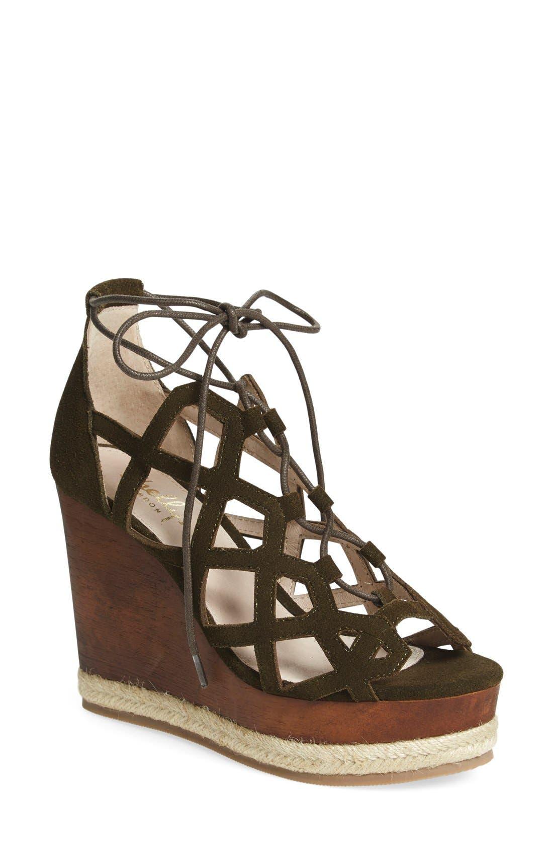 Main Image - Shellys London 'Emerald' Wedge Sandal (Women)