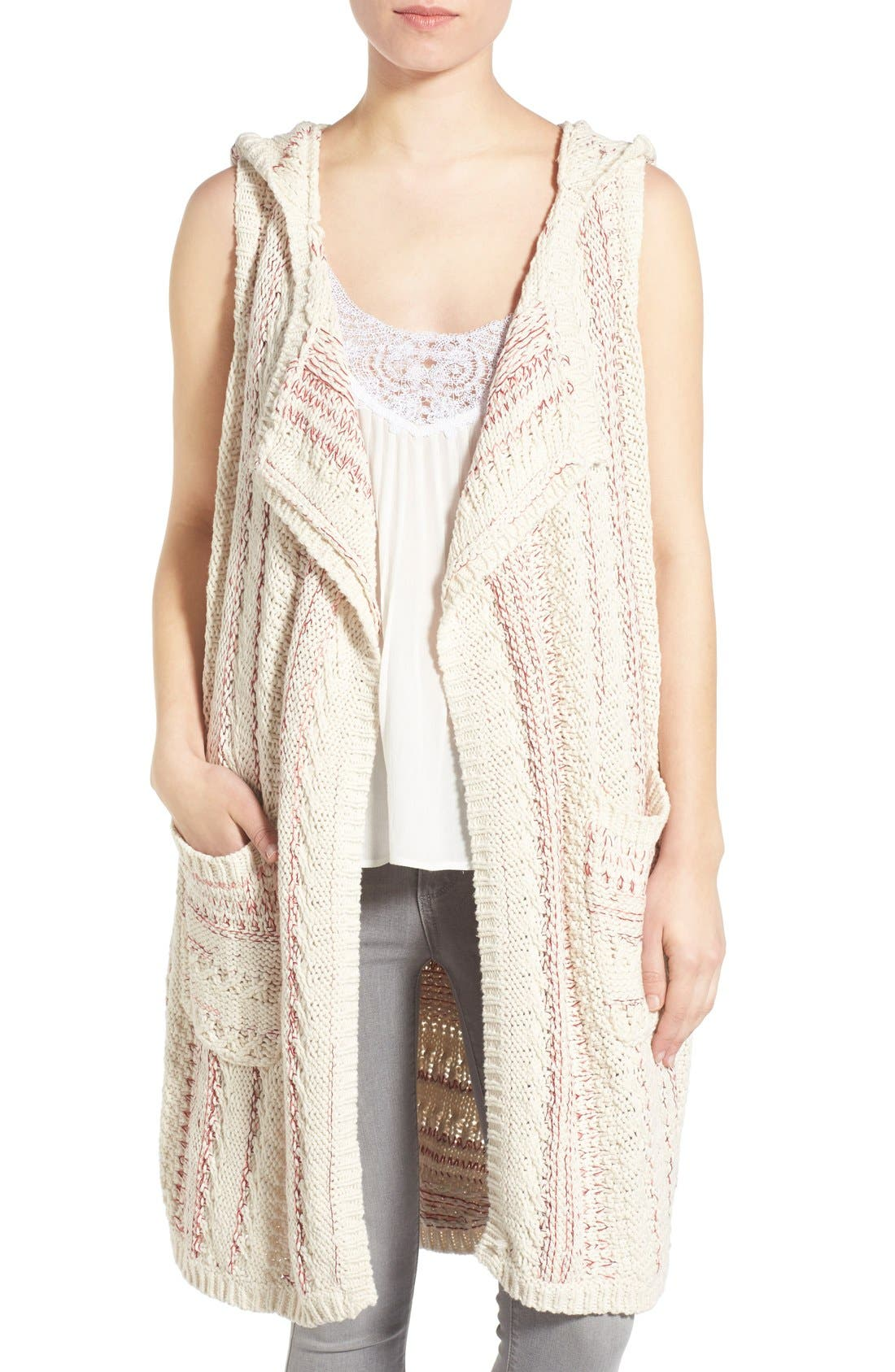 Willow & Clay Cotton Hooded Vest
