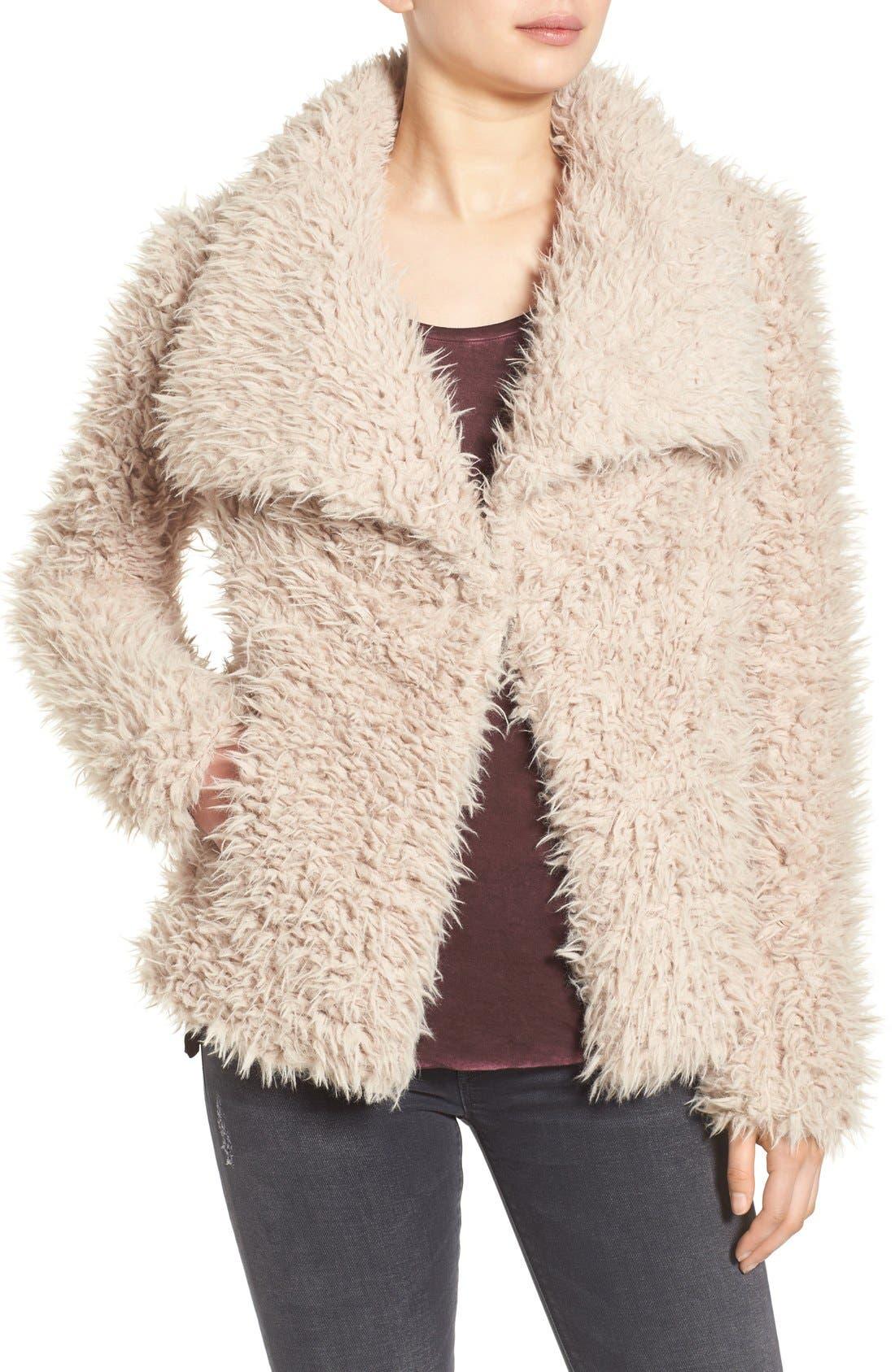 Alternate Image 4  - Betsey Johnson Faux Fur Jacket