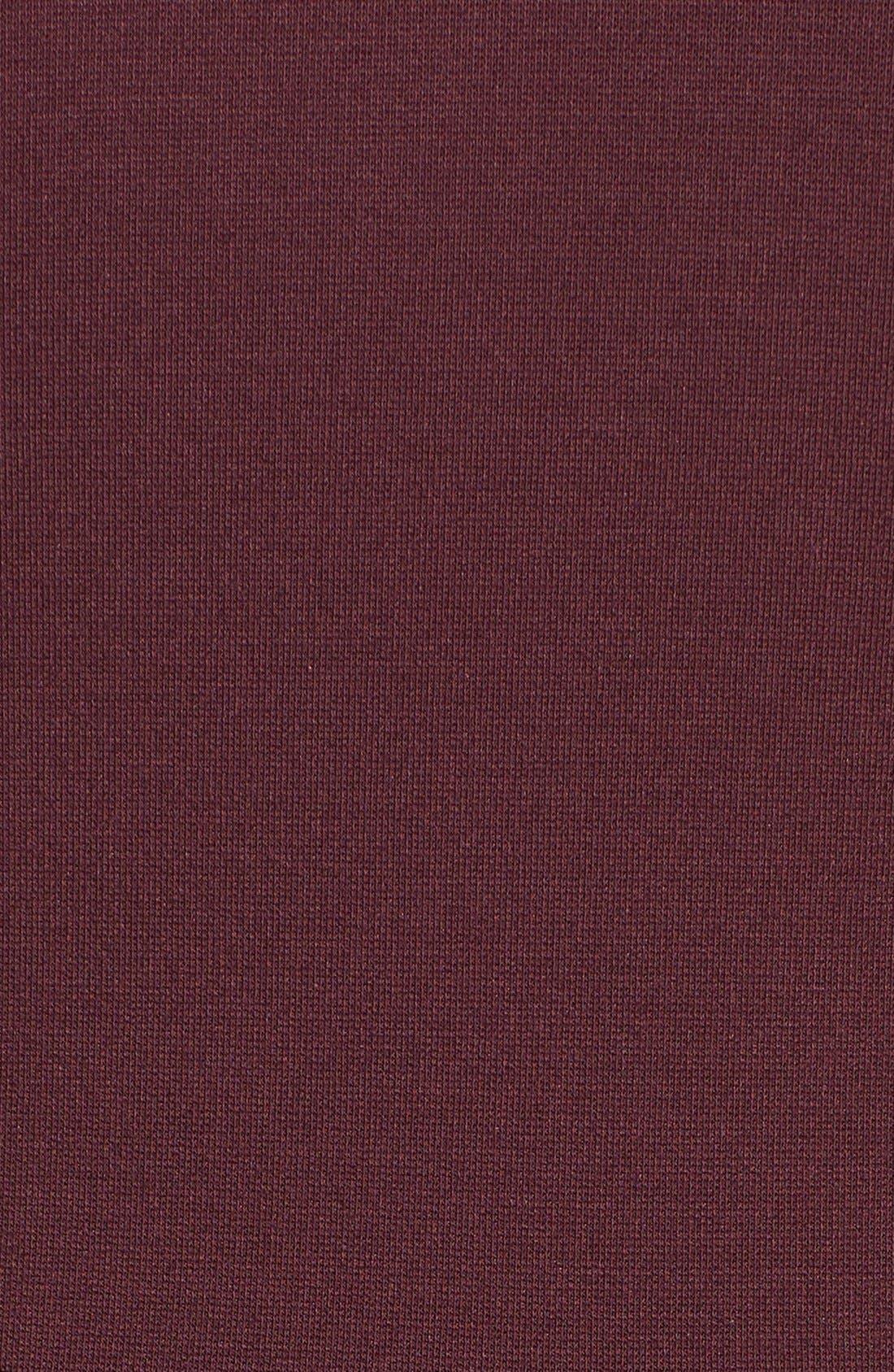 Alternate Image 6  - Halogen® Seamed V-Neck Ponte Sheath Dress (Regular & Petite)