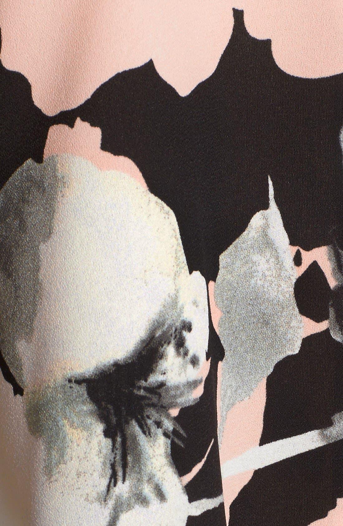 Alternate Image 4  - devlin 'Sally' Floral Popover Romper