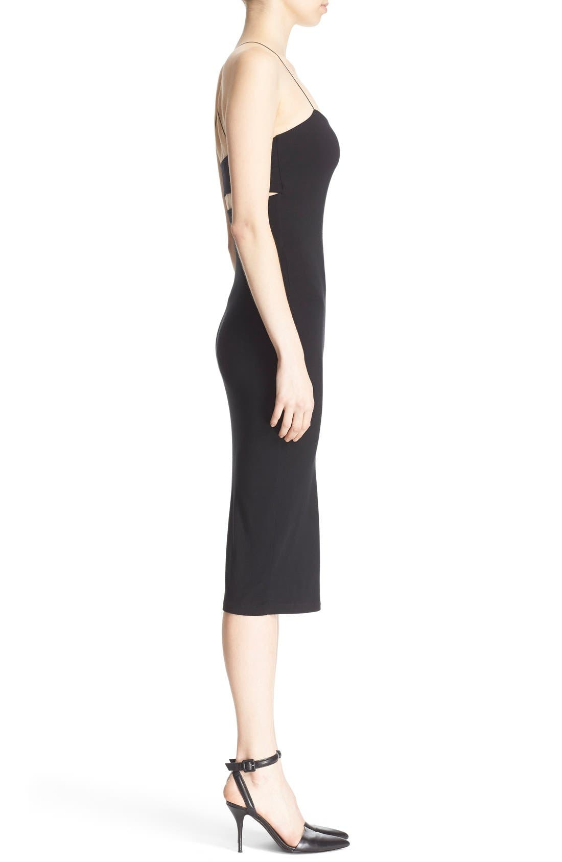 Alternate Image 3  - T by Alexander Wang Camisole Body-Con Dress