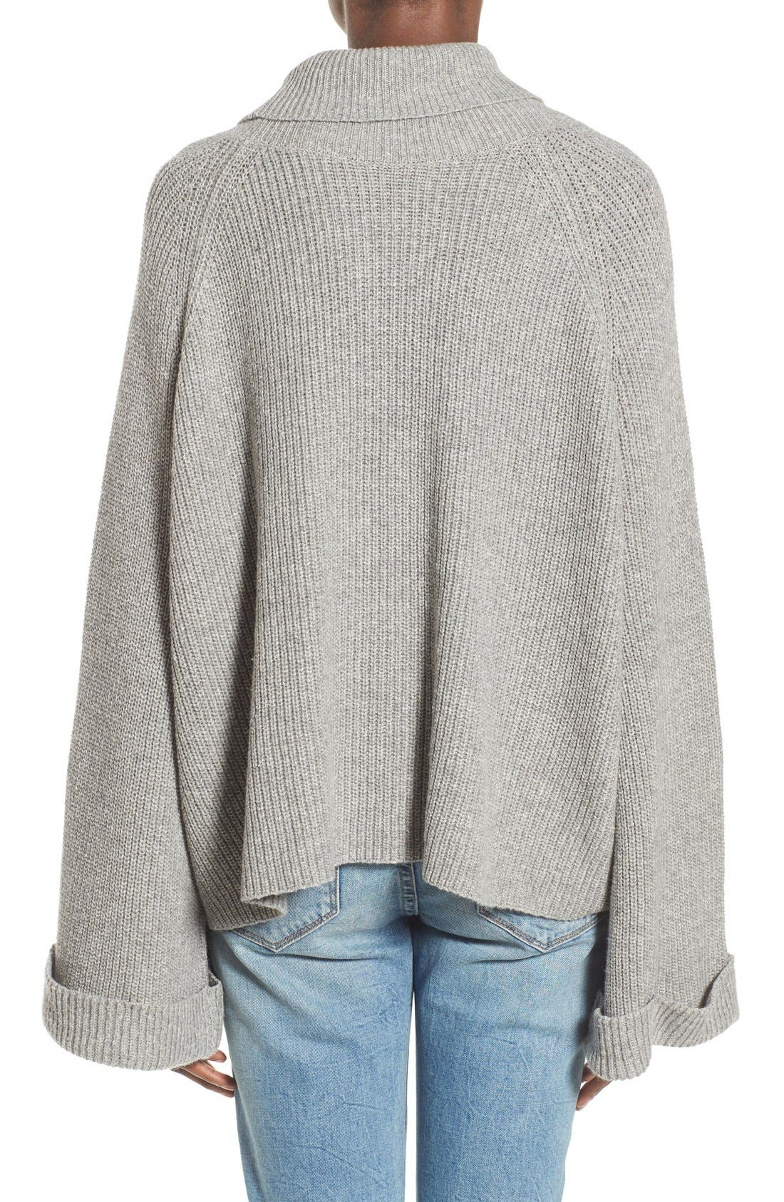 Alternate Image 2  - Leith Cowl Neck Shaker Pullover