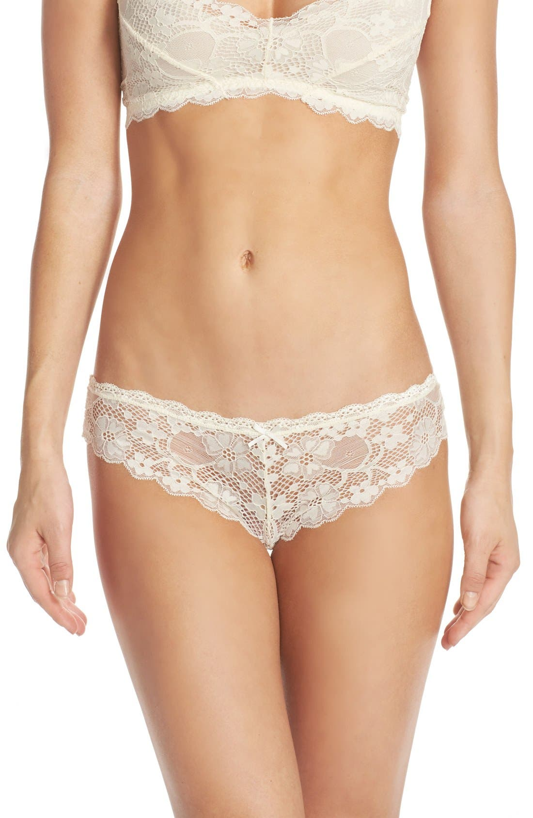 Honeydew Intimates Camellia Lace Thong (4 for $30)