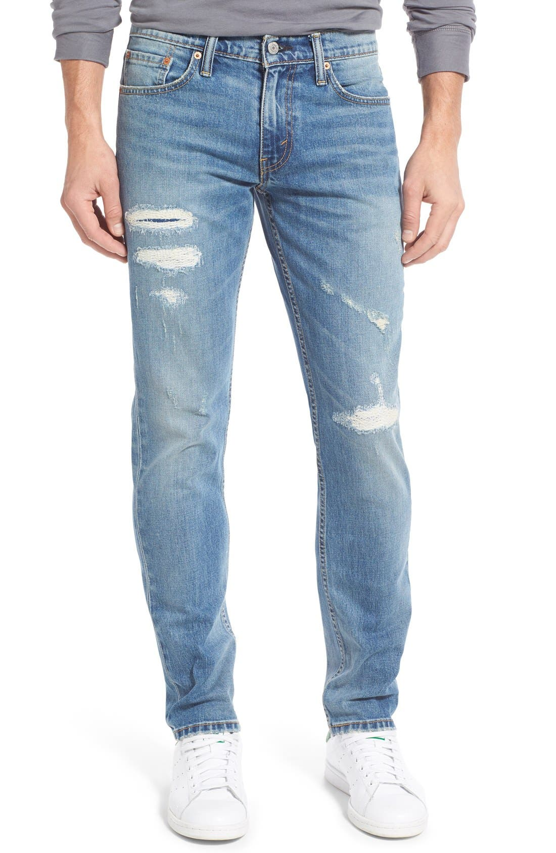 Levi's® 511™ Slim Fit Jeans (Thundermood) (Regular & Tall)