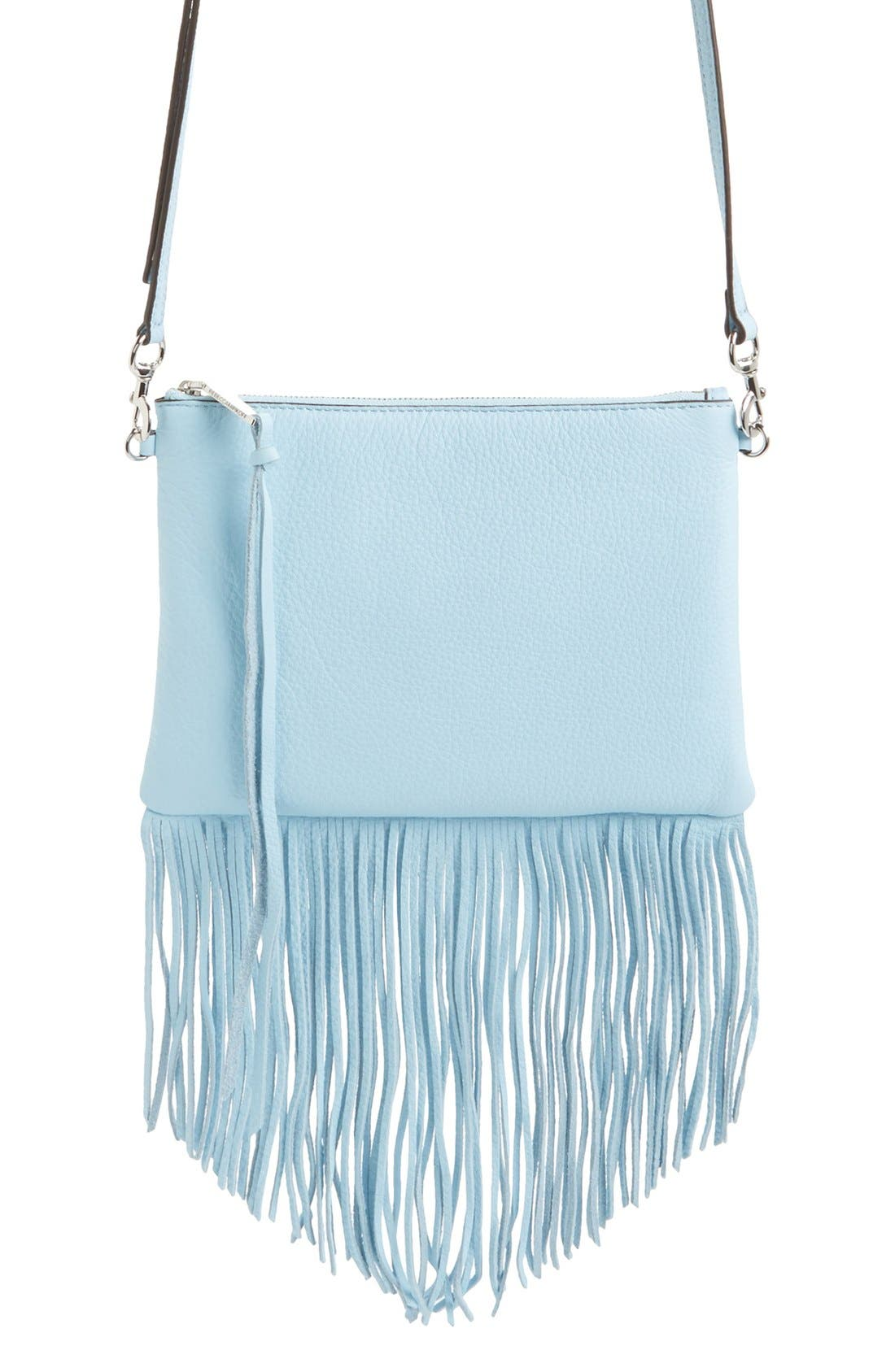 Alternate Image 2  - Rebecca Minkoff 'Fringe Jon' Leather Crossbody Bag