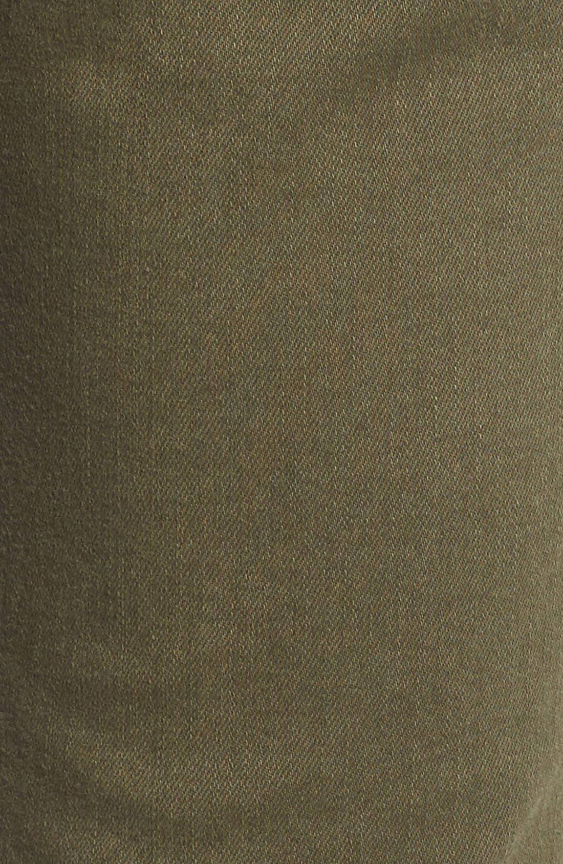 Alternate Image 5  - SP Black Stretch Cotton Skinny Jeans