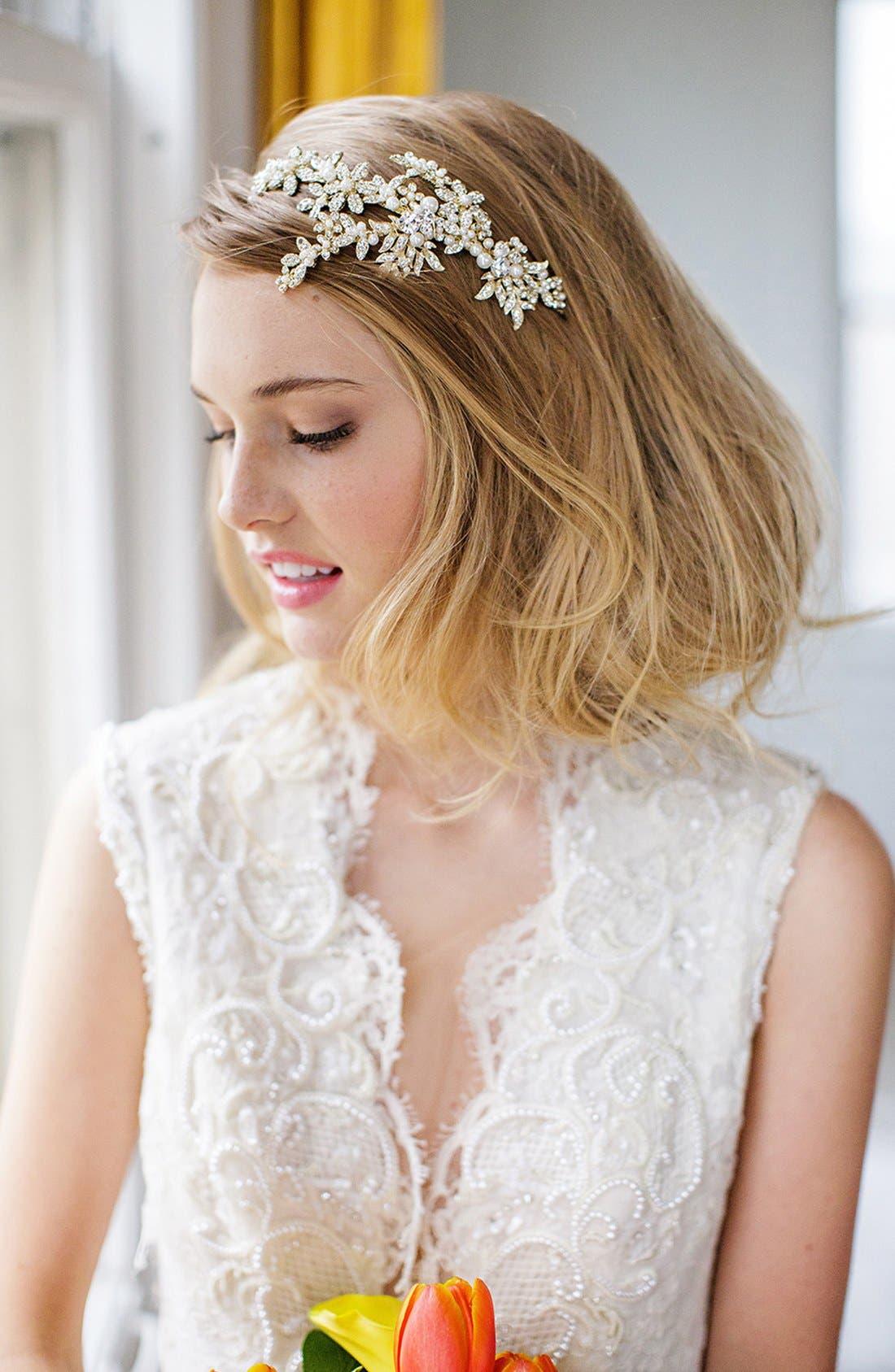 Brides & Hairpins 'Eva' Jeweled Head Band