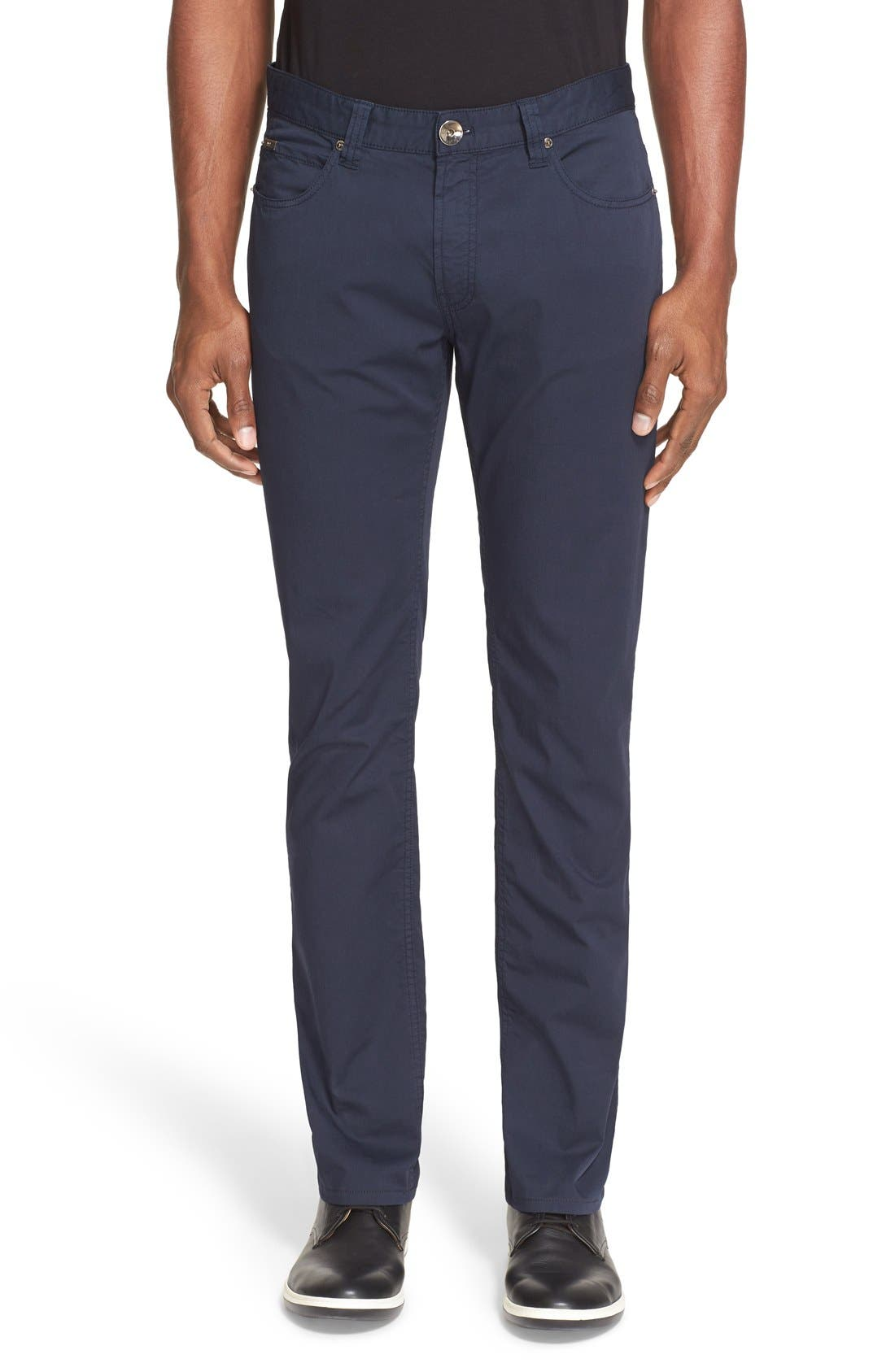 ARMANI COLLEZIONI Straight Leg Five-Pocket Pants
