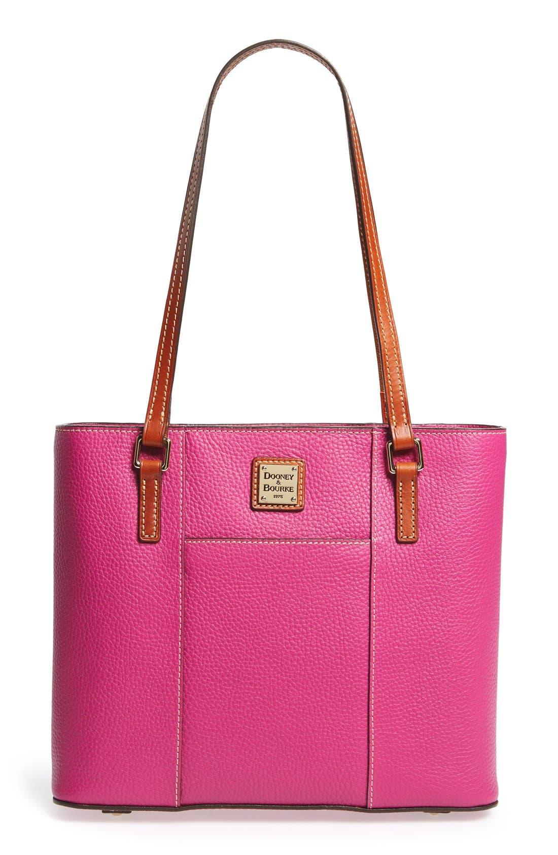Main Image - Dooney & Bourke 'Small Lexington - Pebble Grain Collection' Water Resistant Leather Shopper