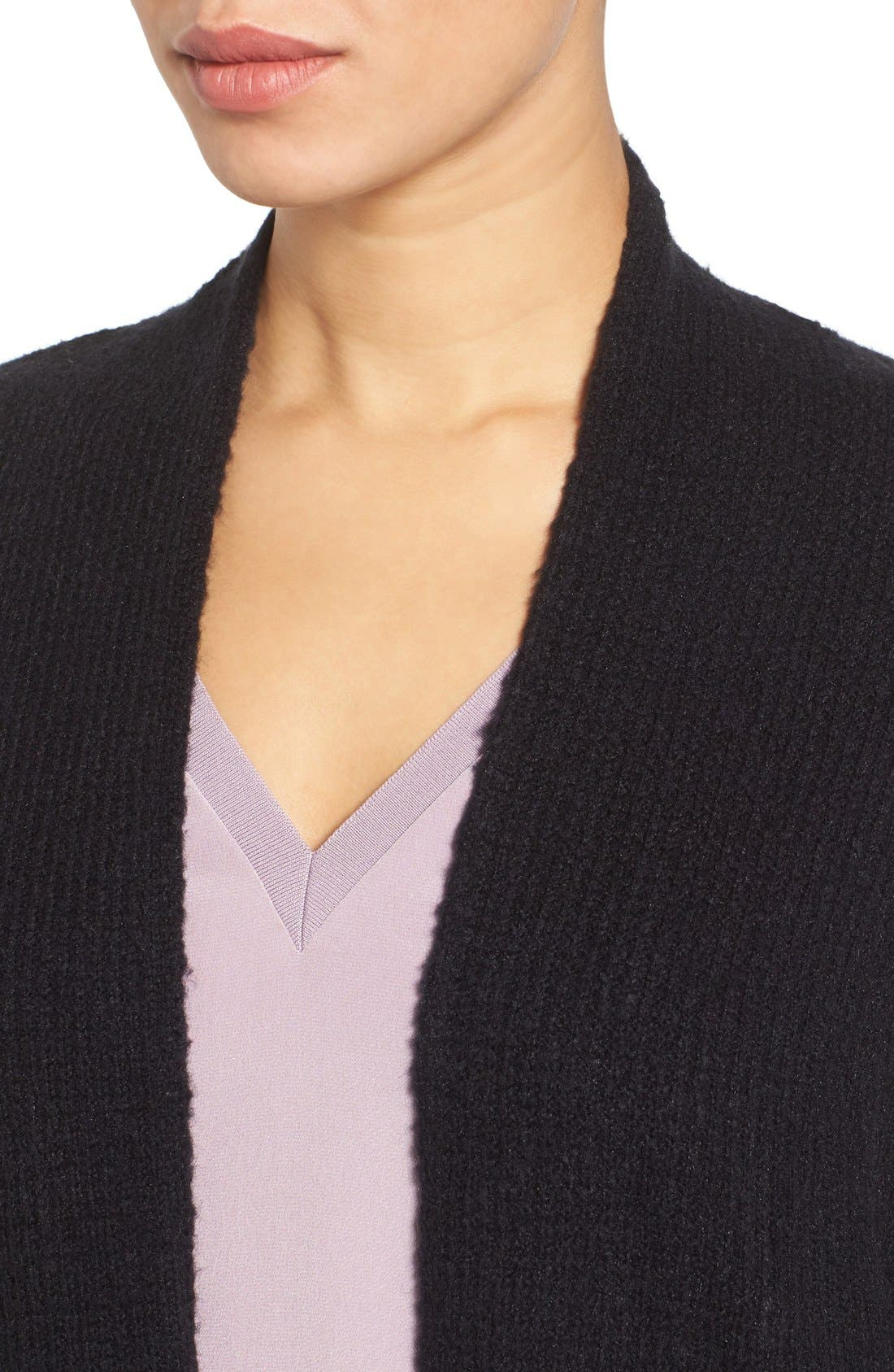 Alternate Image 4  - Halogen® Open Front Knit Cardigan