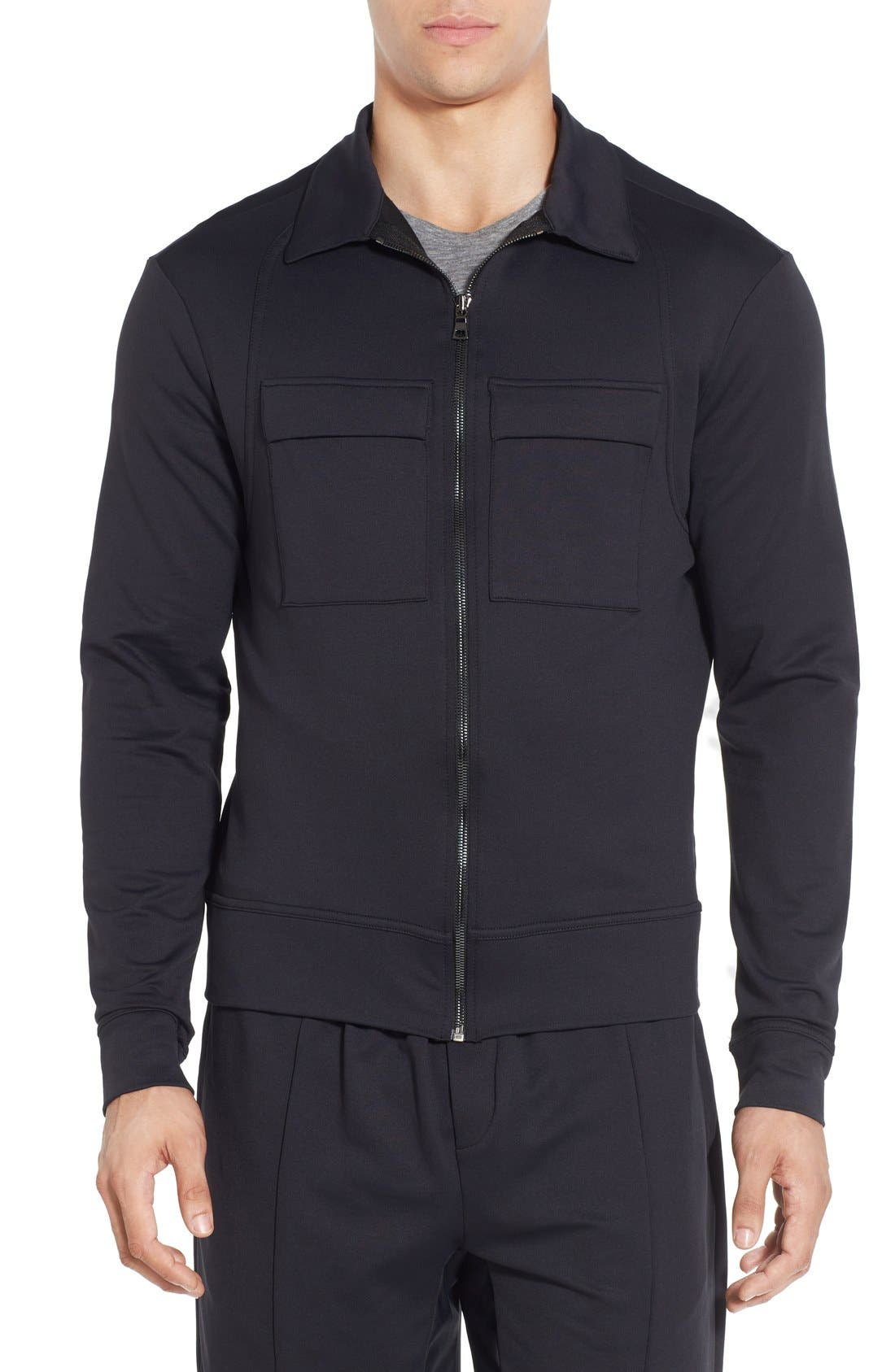 UNCL 'Barret' Trim Fit Technical Jacket