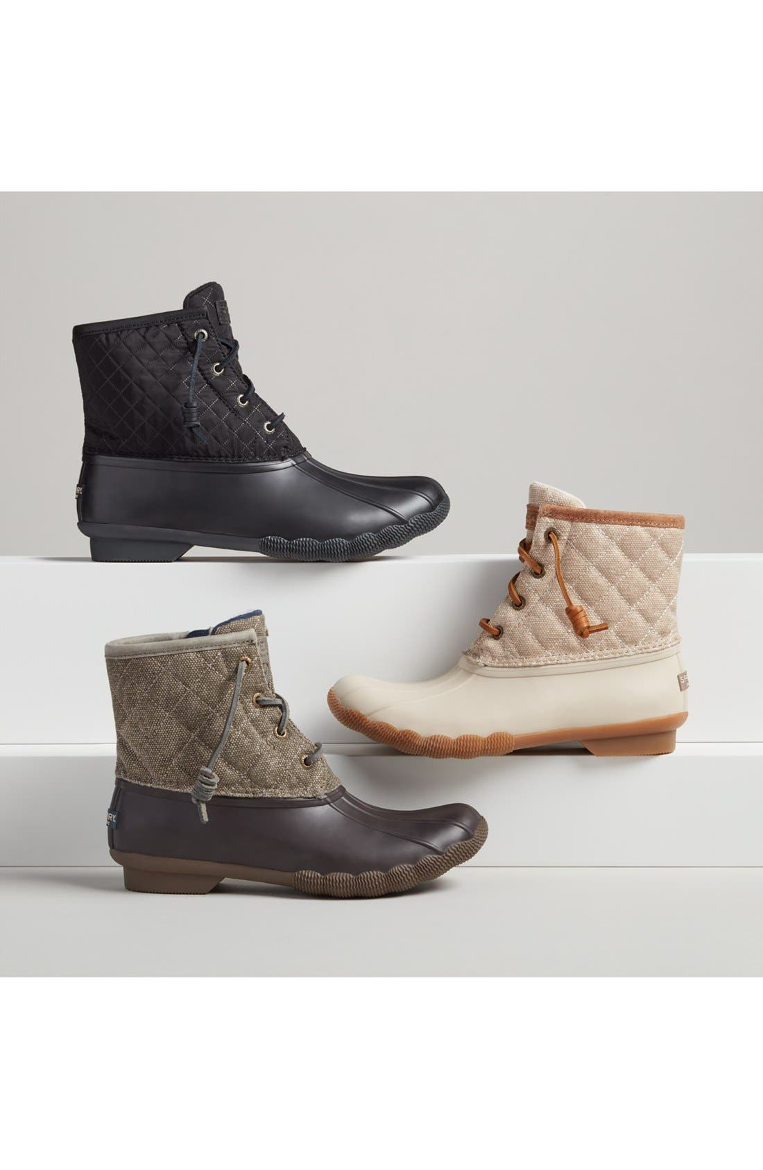 Alternate Image 5  - Sperry 'Saltwater - Quilted' Duck Boot (Women)