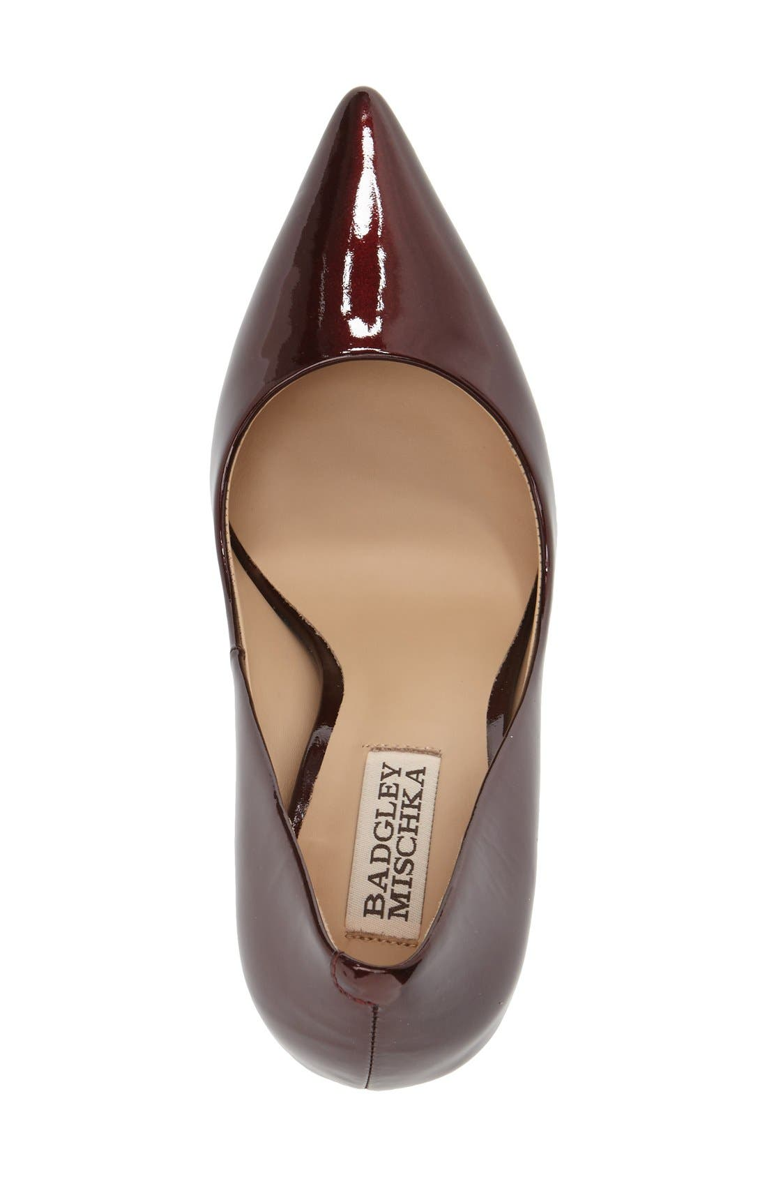 Alternate Image 3  - Badgley Mischka 'Noelle' Pointy Toe Pump (Women)
