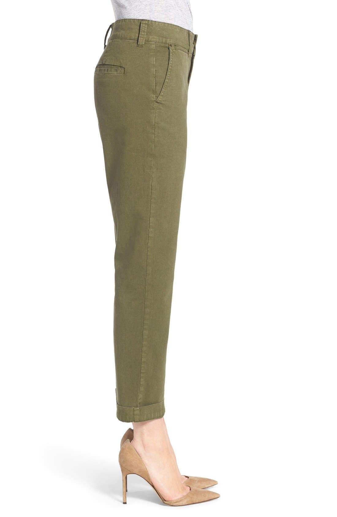 Alternate Image 3  - Madewell High Rise Straight Leg Chino Pants
