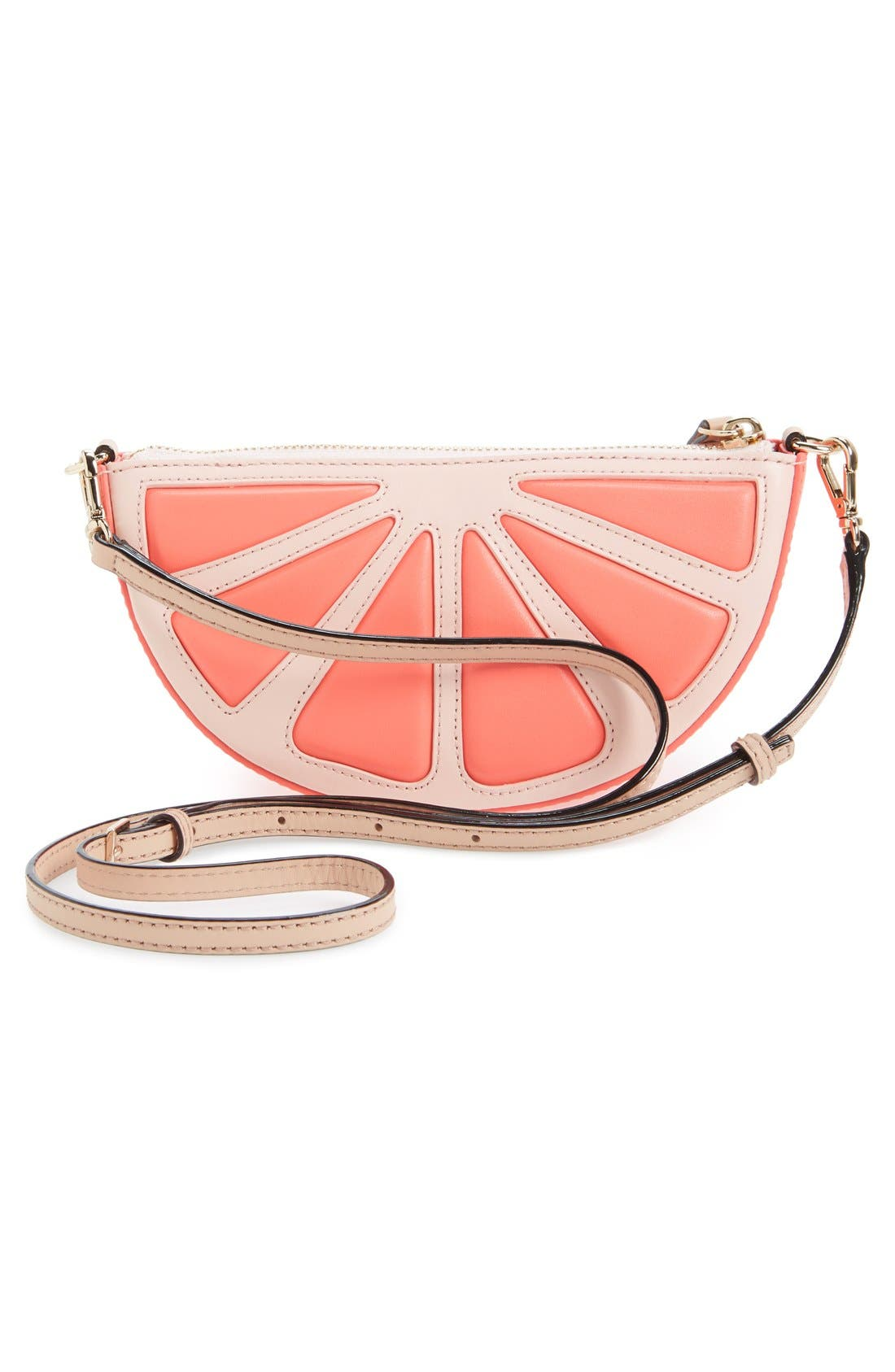 Alternate Image 3  - kate spade new york 'flights of fancy' grapefruit crossbody bag
