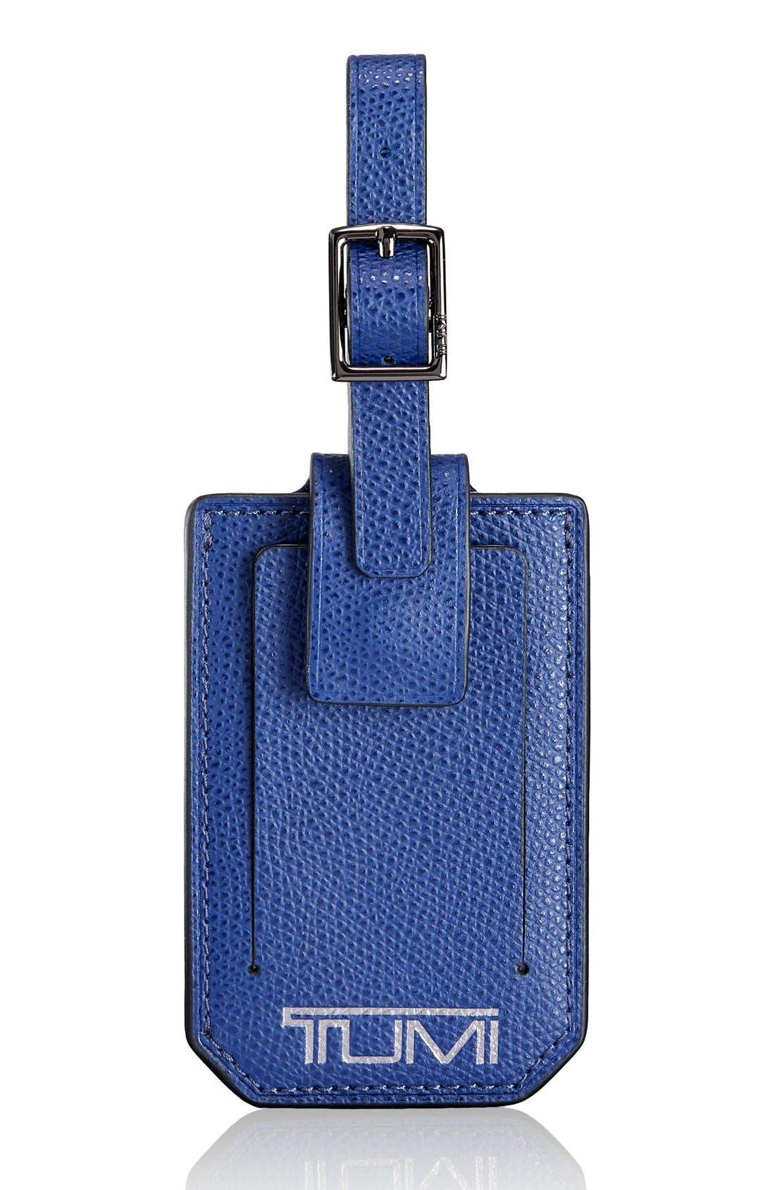 Tumi 'Camden' Leather Luggage Tag
