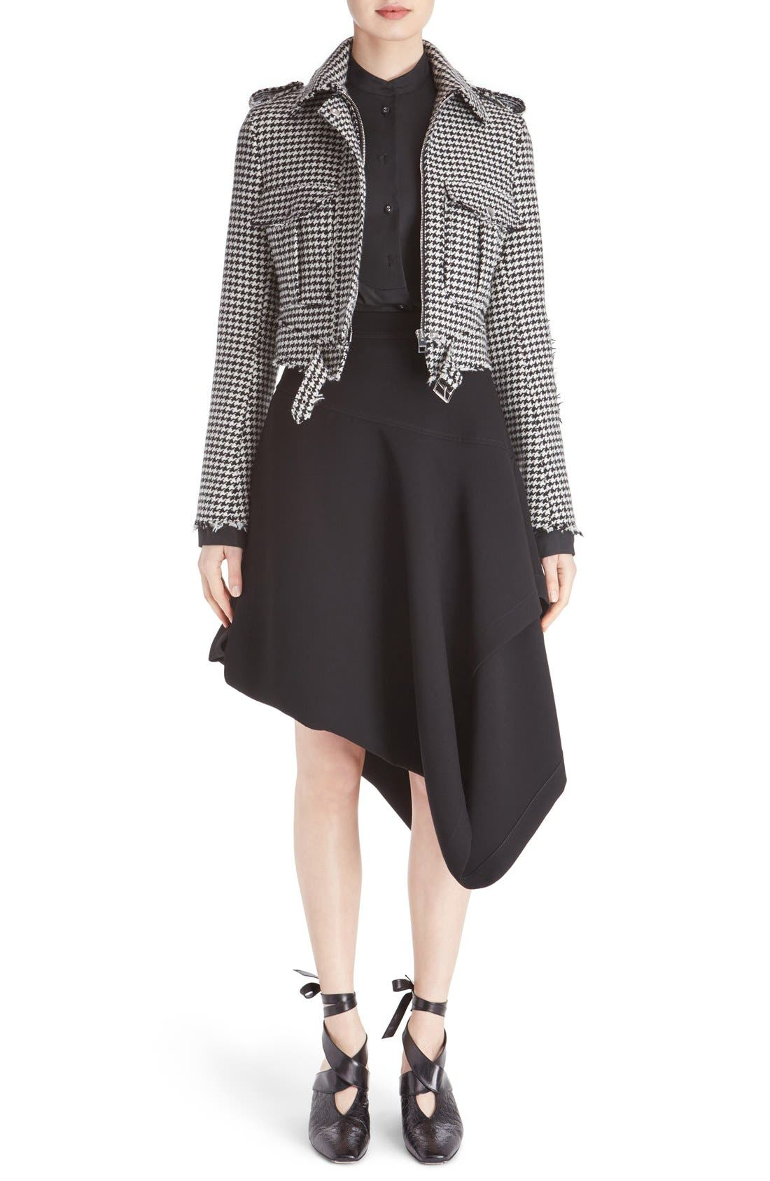J.W.ANDERSON Houndstooth Wool Blend Jacket