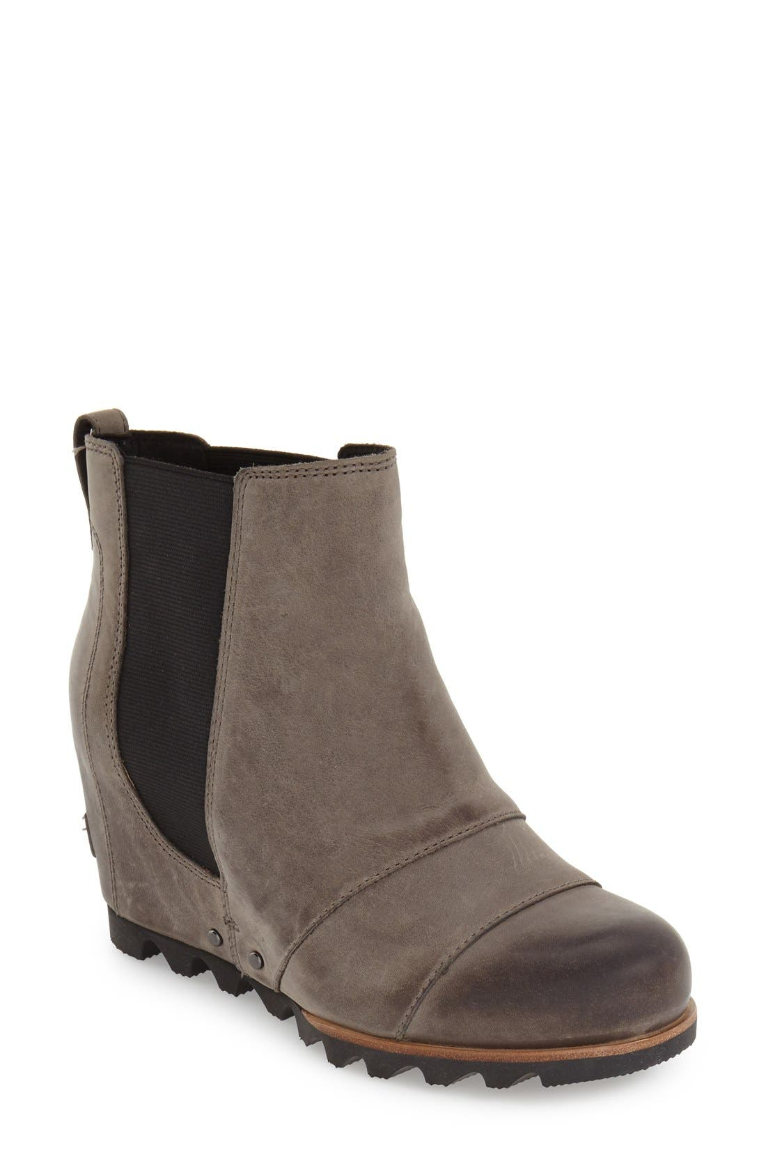 SOREL 'Lea' Waterproof Wedge Bootie (Women)