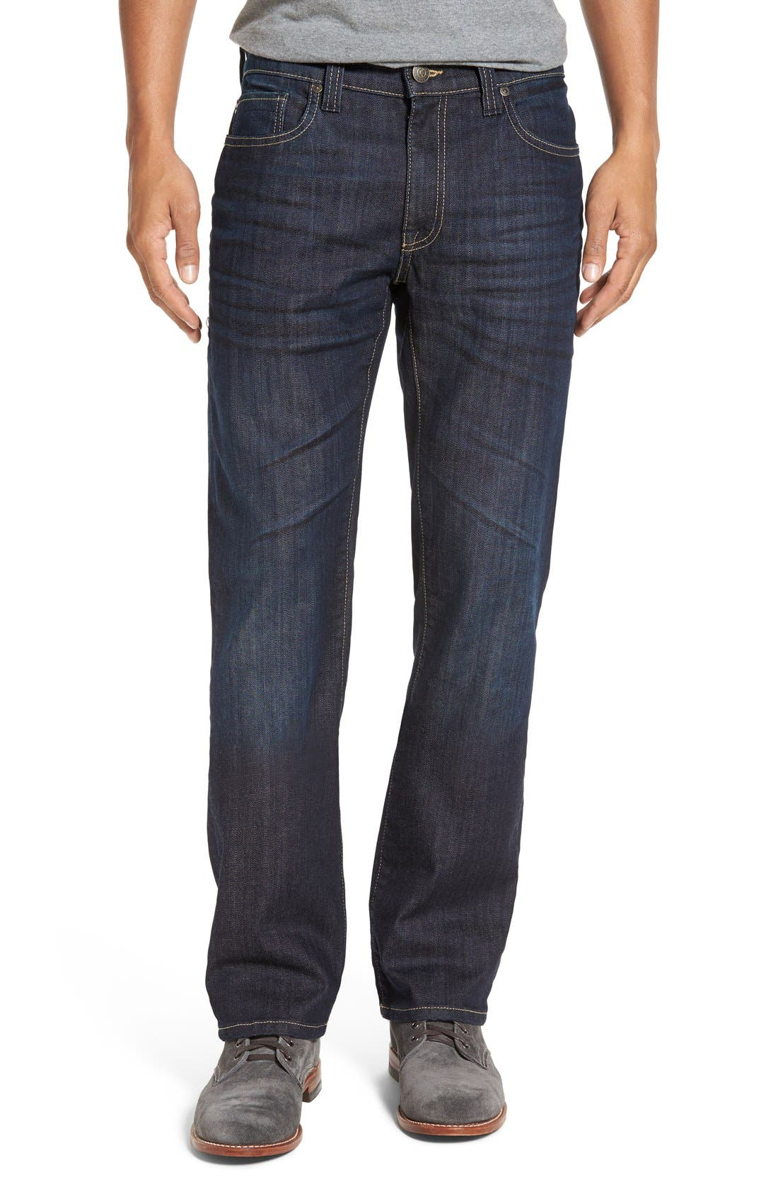 Fidelity Denim '50-11' Straight Leg Jeans (Lunar Blue)