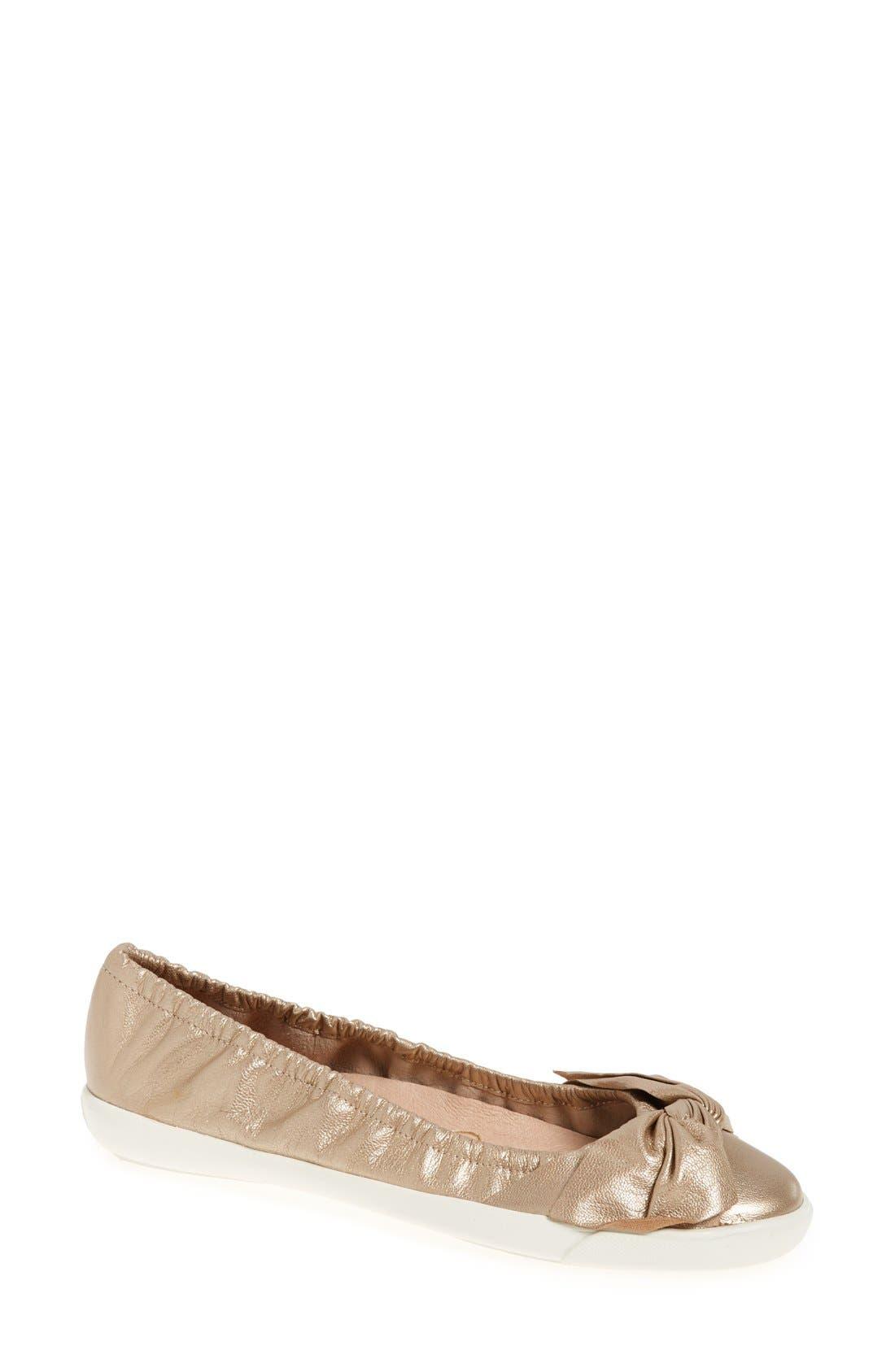 Sudini 'Olga' Leather Flat (Women)