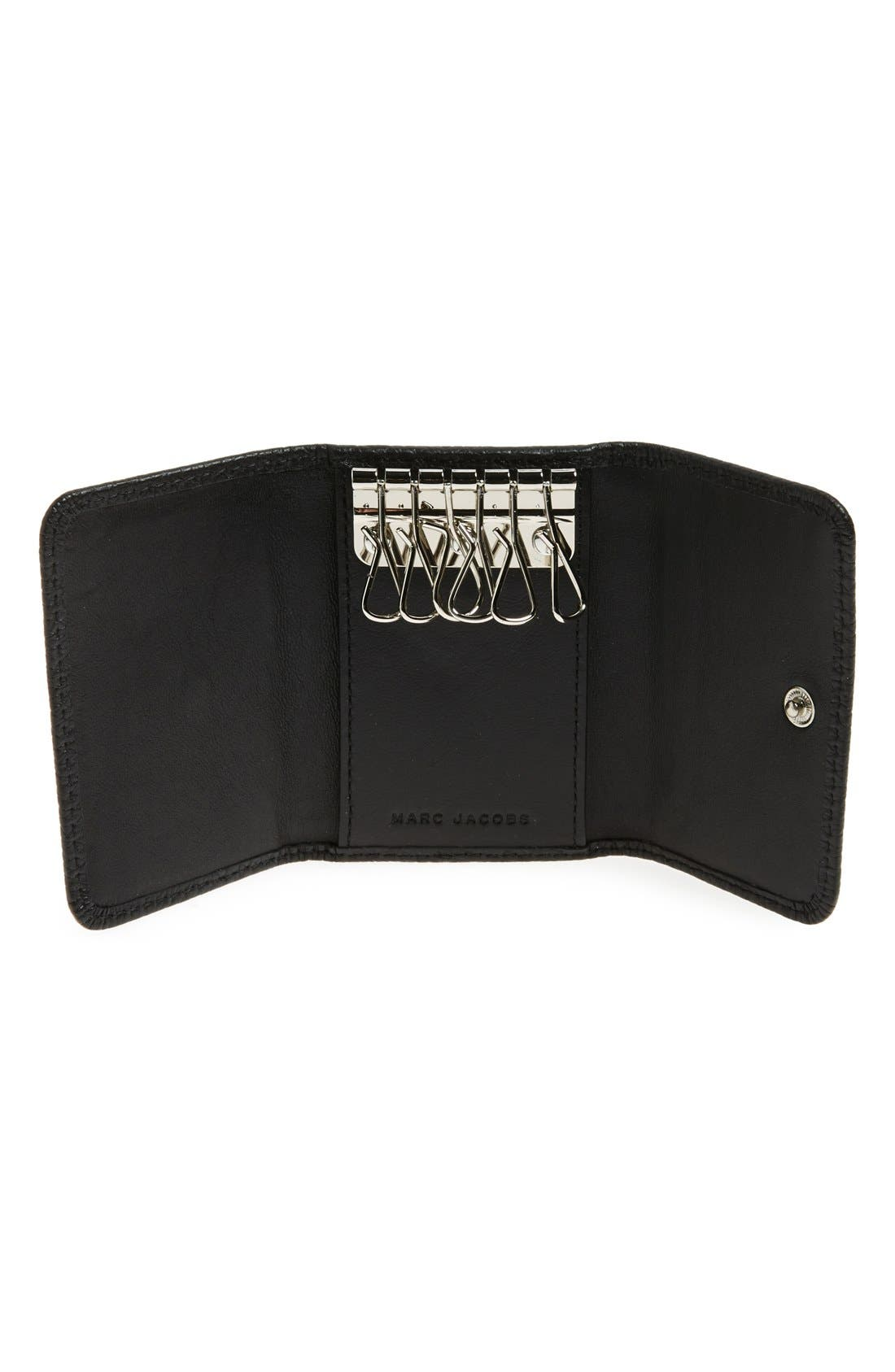 Alternate Image 2  - MARC JACOBS 'Gotham' Leather Key Case