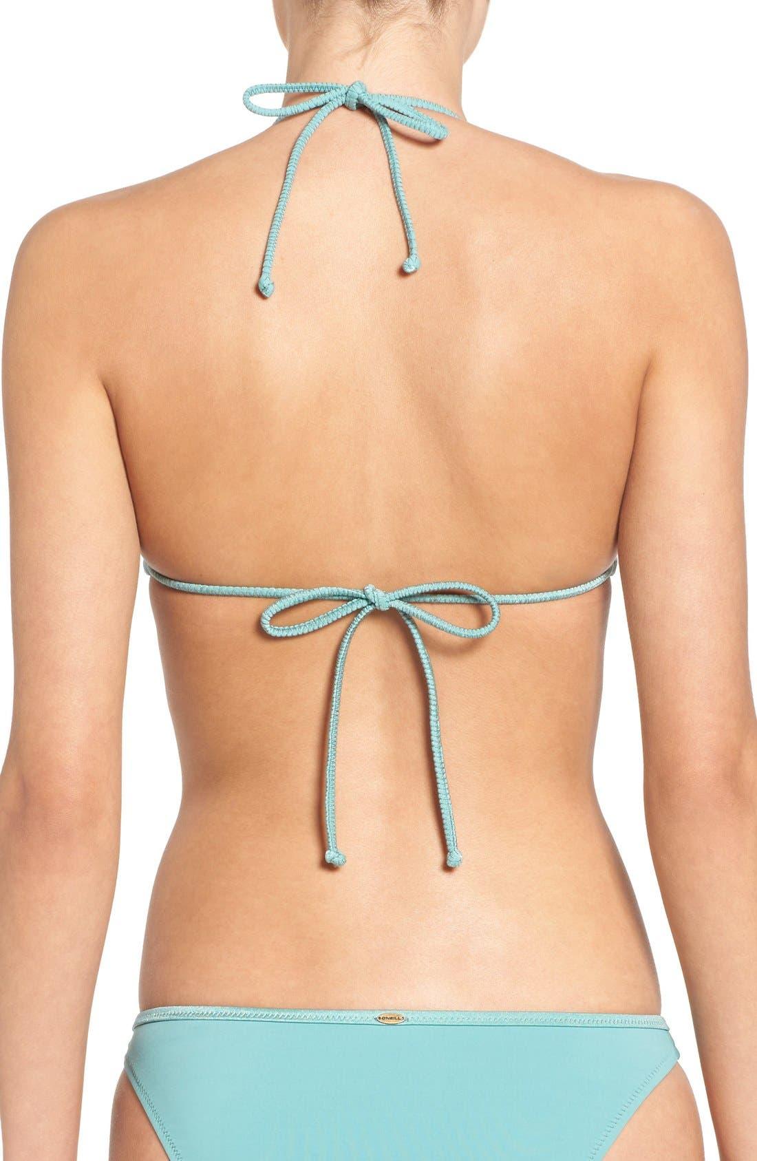 Alternate Image 2  - O'Neill 'Antoinette' Triangle Bikini Top