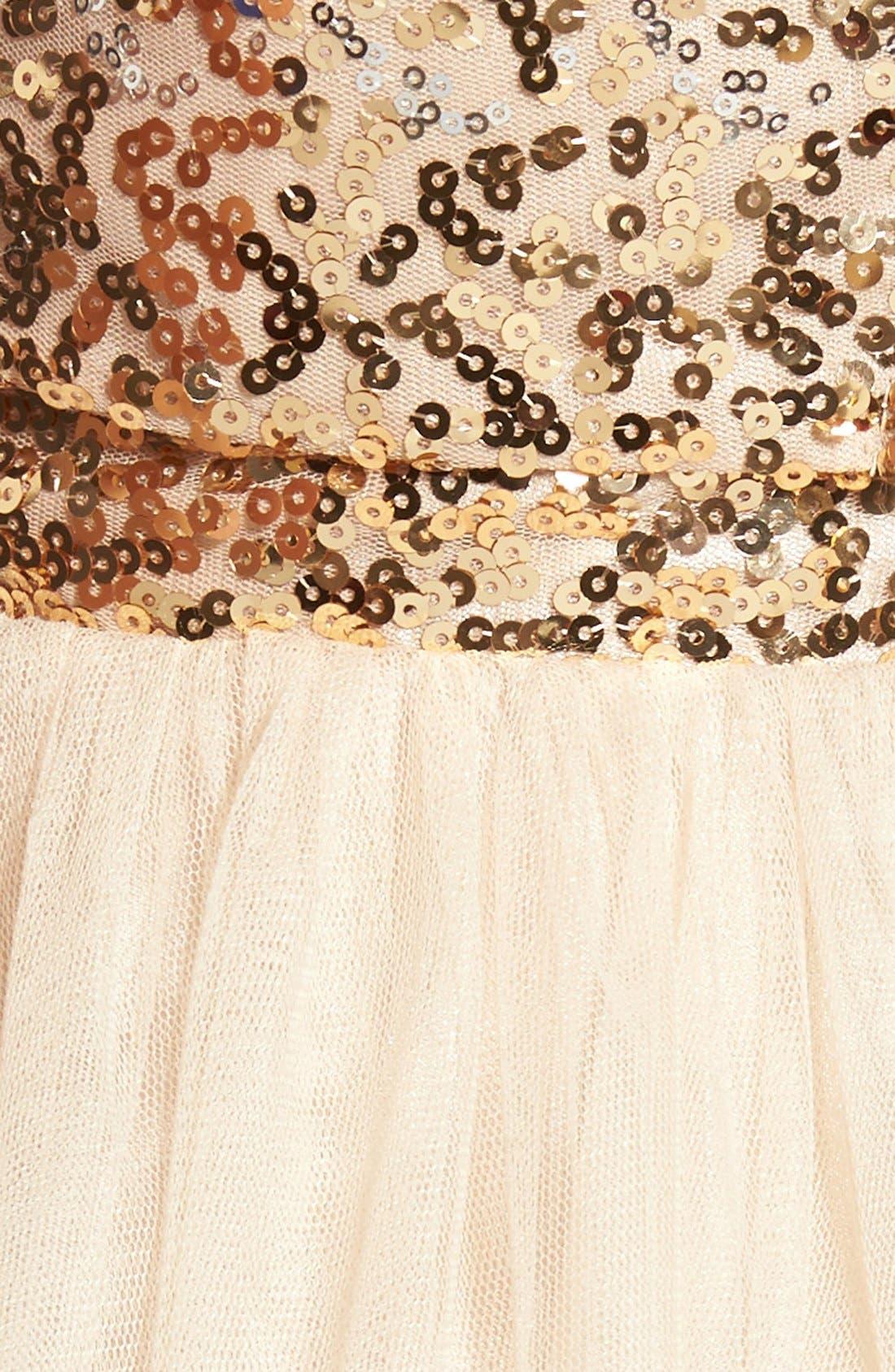 Alternate Image 5  - Steppin Out Embellished Two-Piece Skater Dress