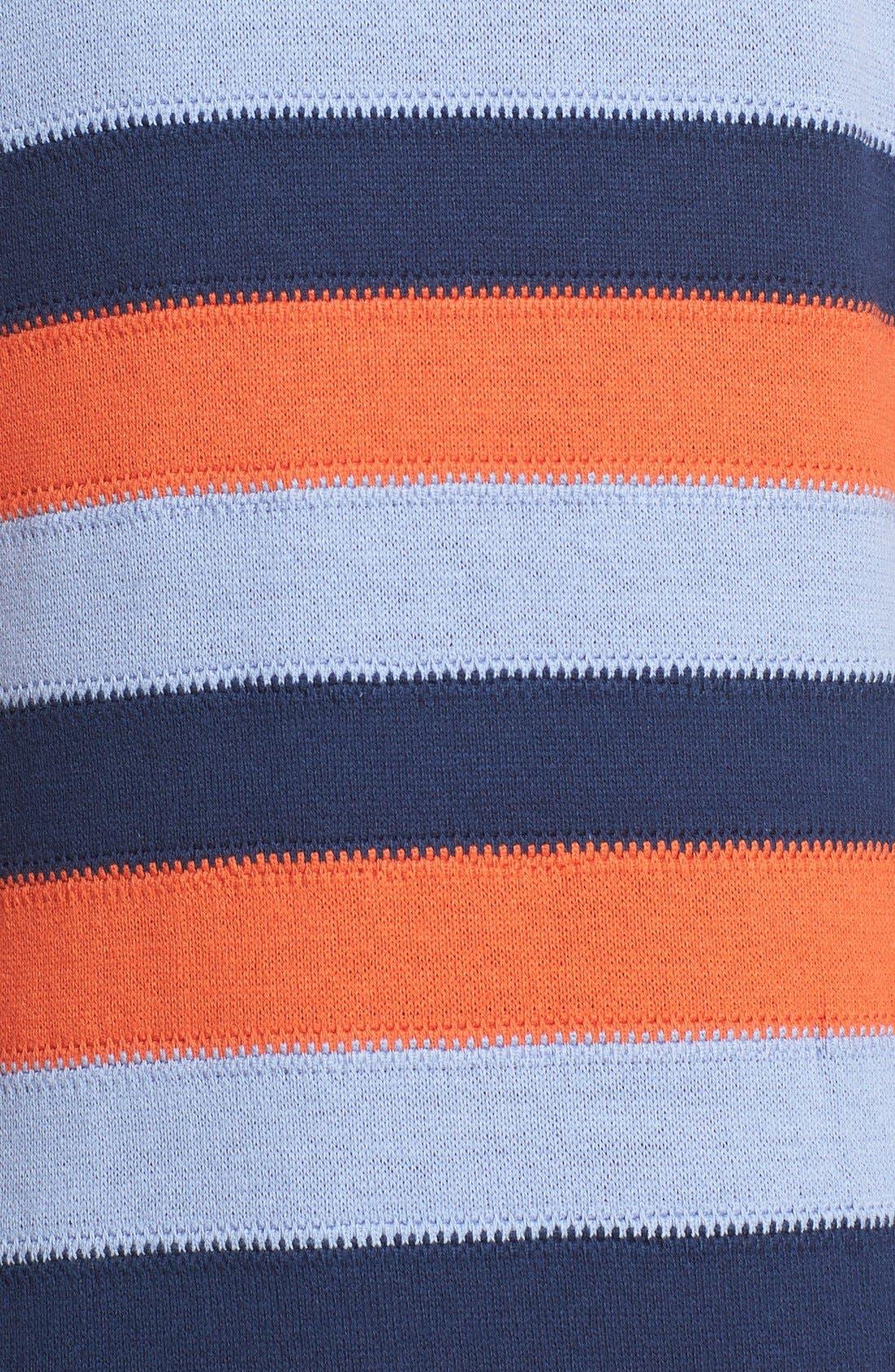 Alternate Image 5  - Tory Burch 'Ariana' Fringe Hem Stripe Tank Dress