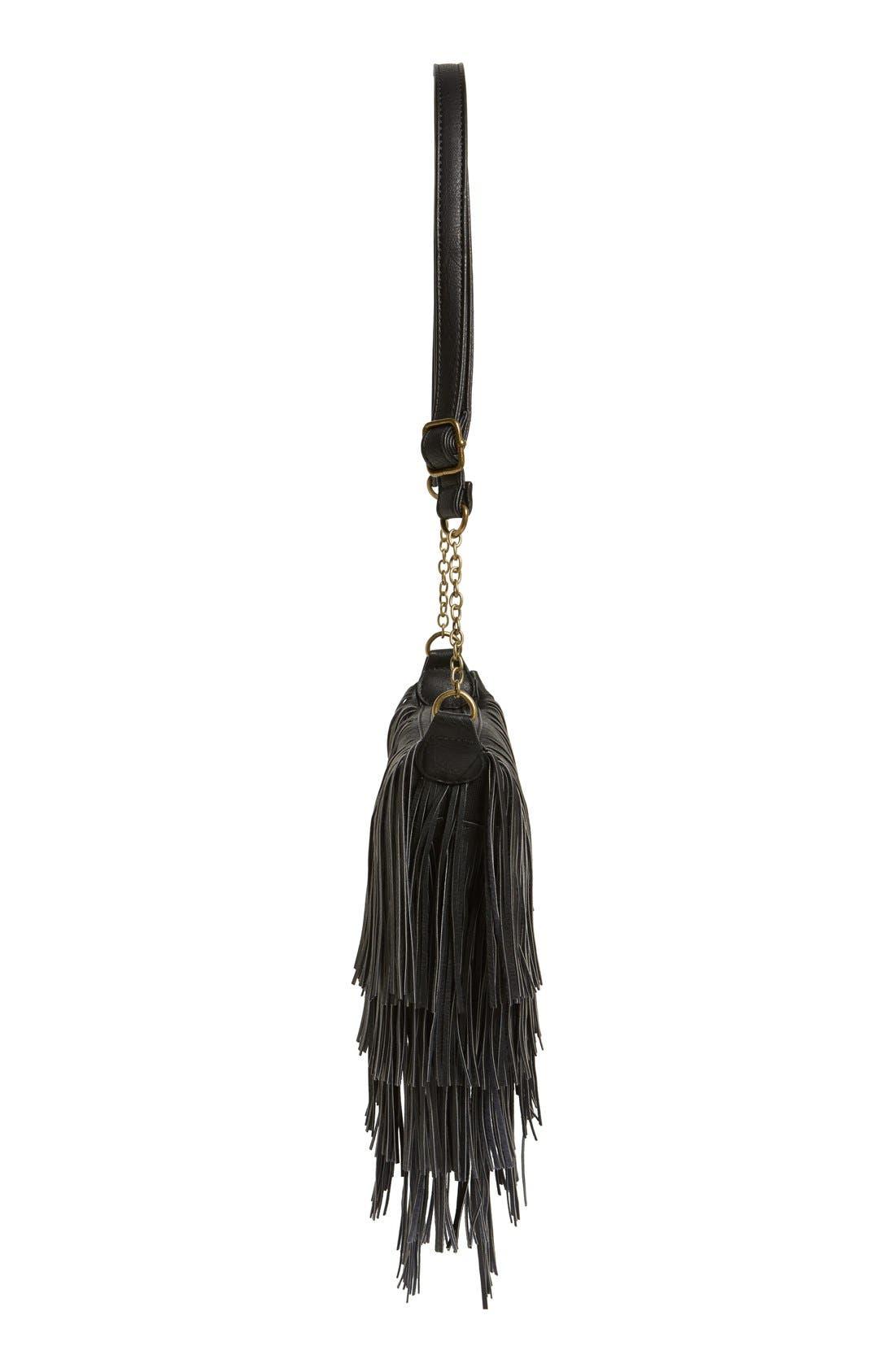 Alternate Image 6  - NU-G 'Boho Fringe' Crossbody Bag