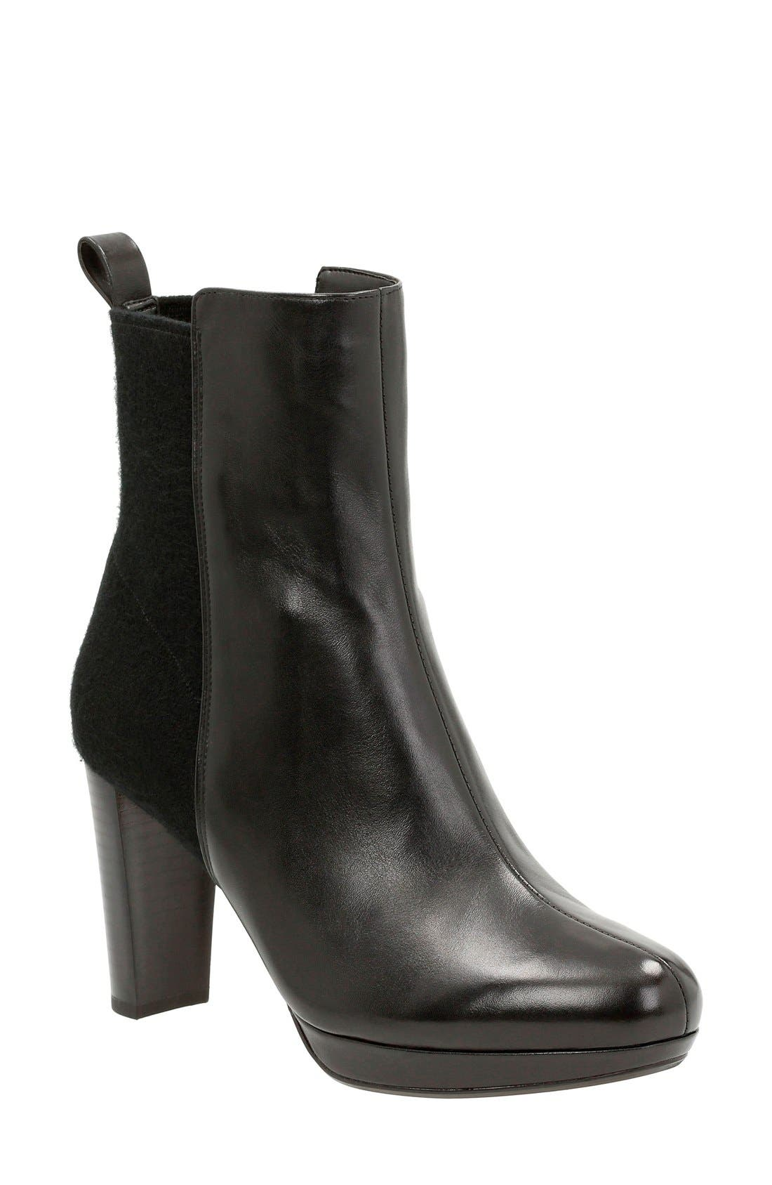 Alternate Image 1 Selected - Clarks® 'Kendra Porter' Ankle Boot (Women)