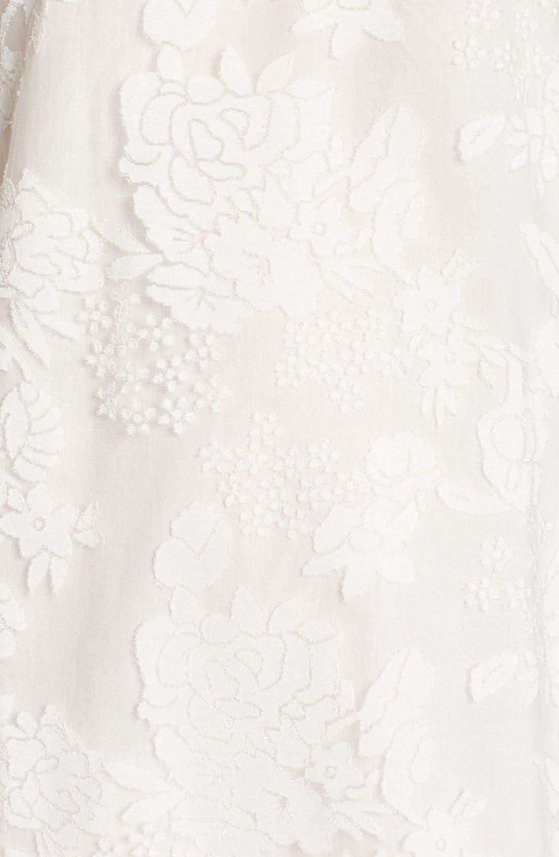 Alternate Image 5  - Catherine Catherine Malandrino 'Mel' Lace Babydoll Dress