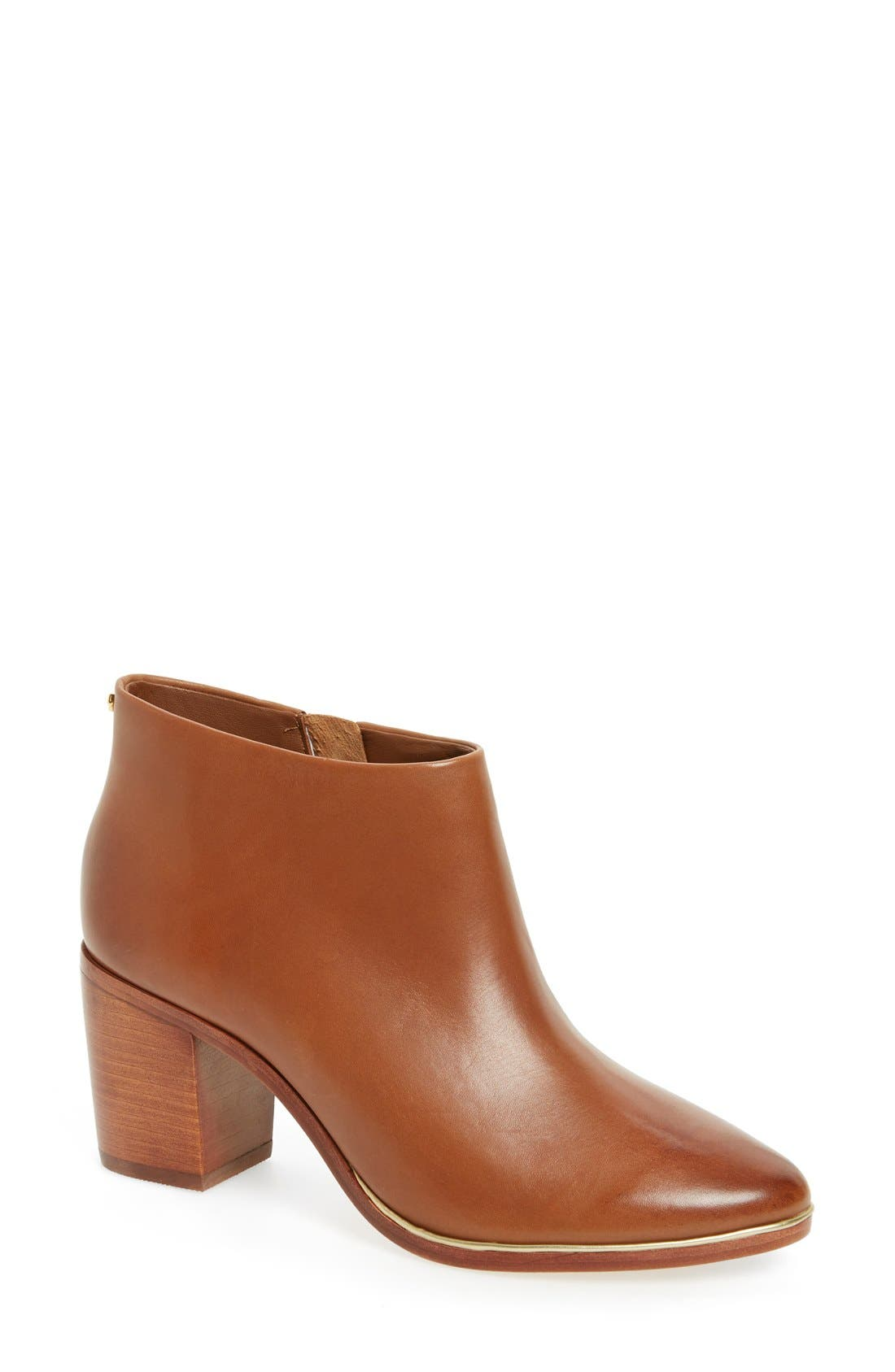 Alternate Image 1 Selected - Ted Baker London 'Hiharu 2' Zip Bootie (Women)
