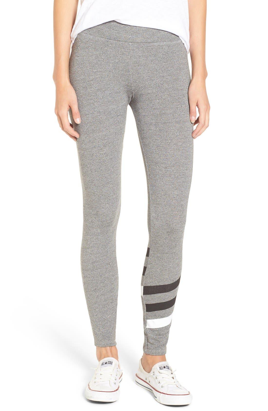 Alternate Image 1 Selected - Sundry 'Stripes' Yoga Pants