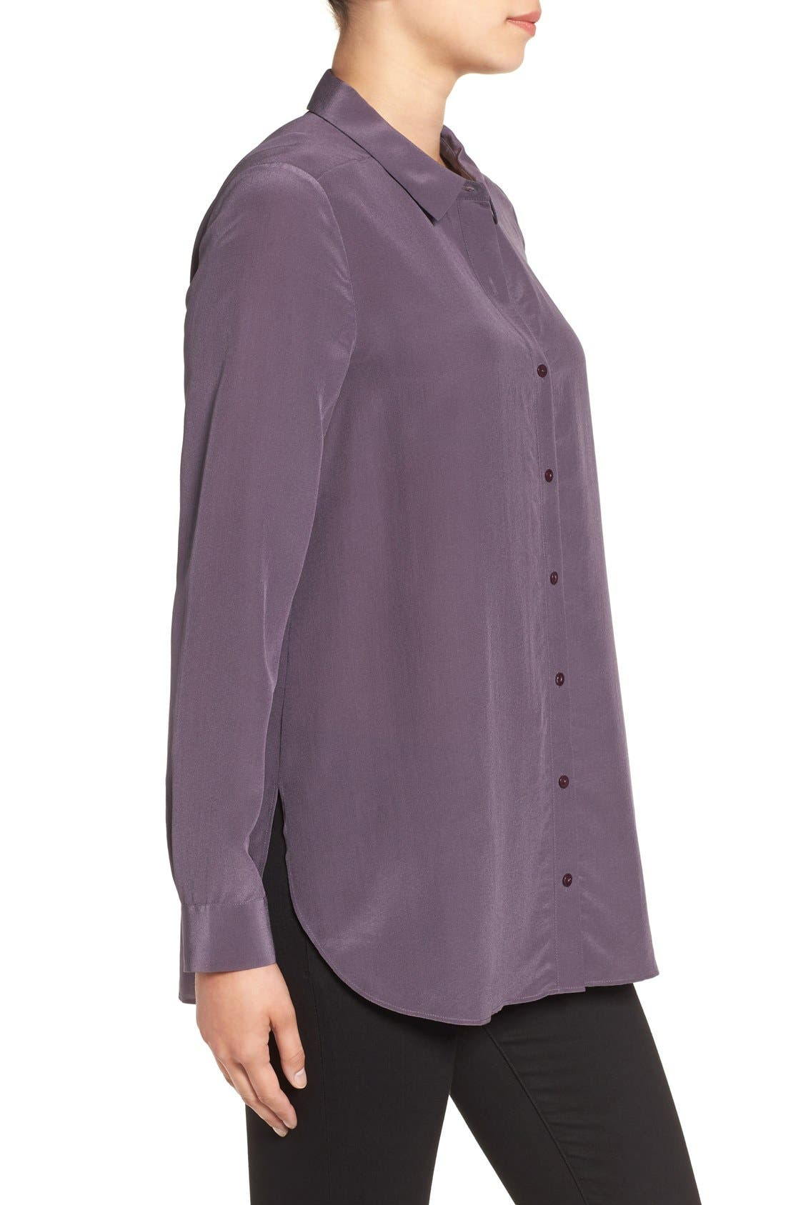 Alternate Image 3  - Eileen Fisher Silk Shirt