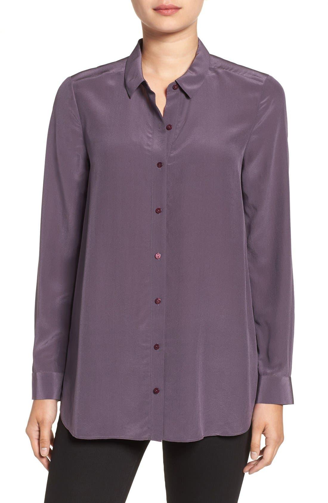 Alternate Image 1  - Eileen Fisher Silk Shirt