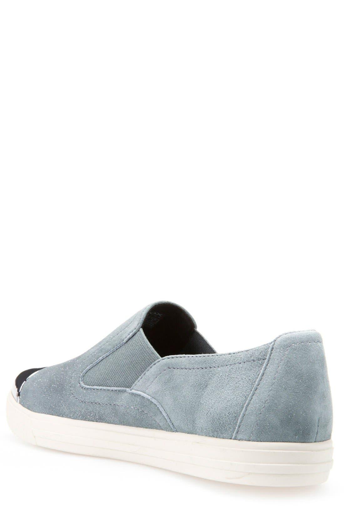Alternate Image 2  - Geox 'Amalthia' Cap Toe Sneaker (Women)