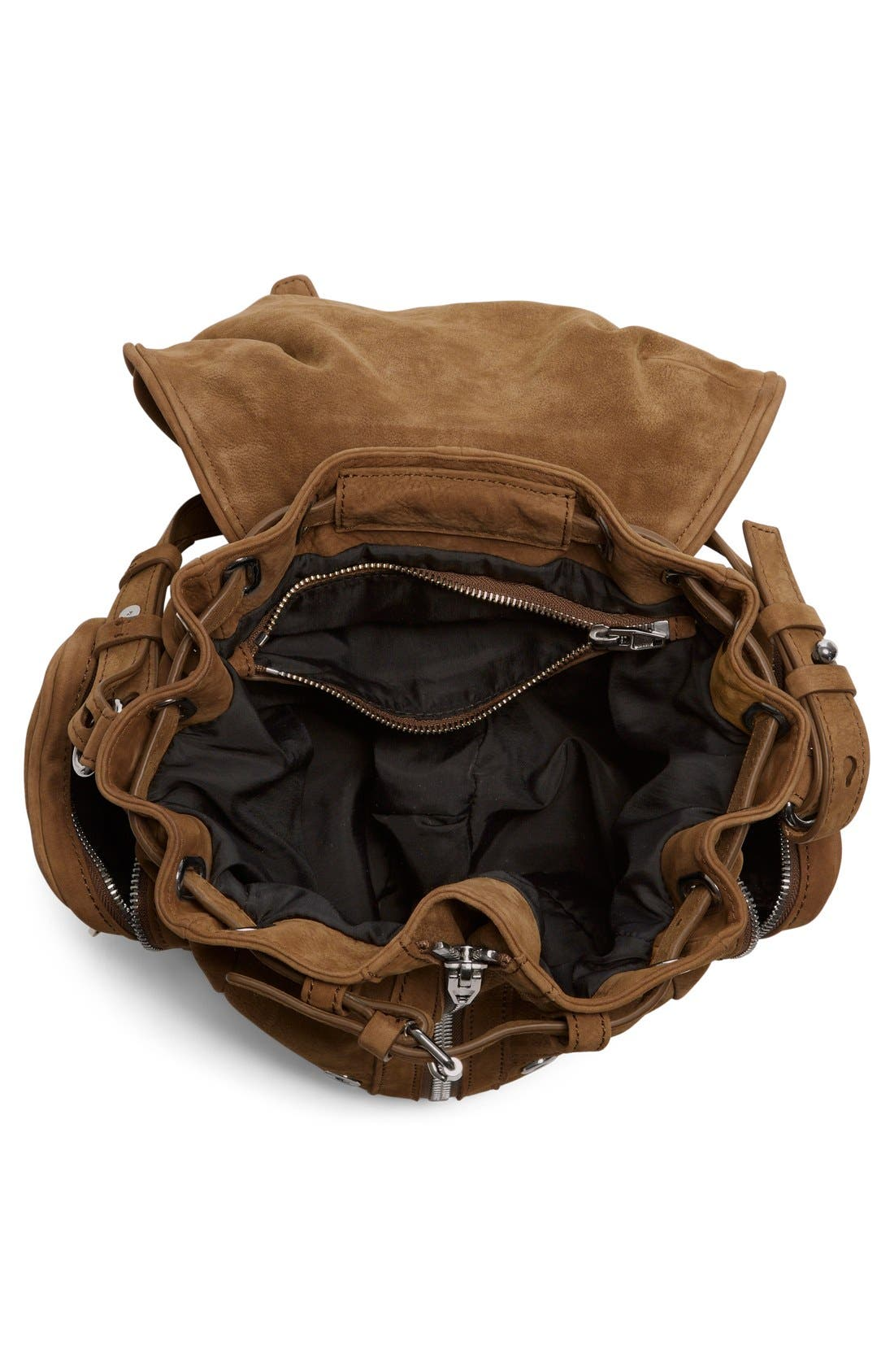 Alternate Image 4  - Alexander Wang 'Mini Marti' Nubuck Leather Backpack