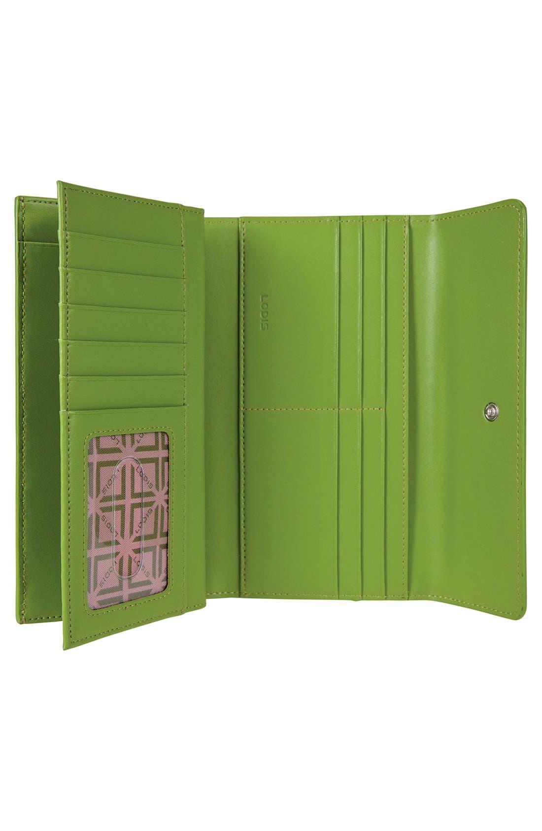 Alternate Image 2  - Lodis 'Audrey' Checkbook Clutch Wallet