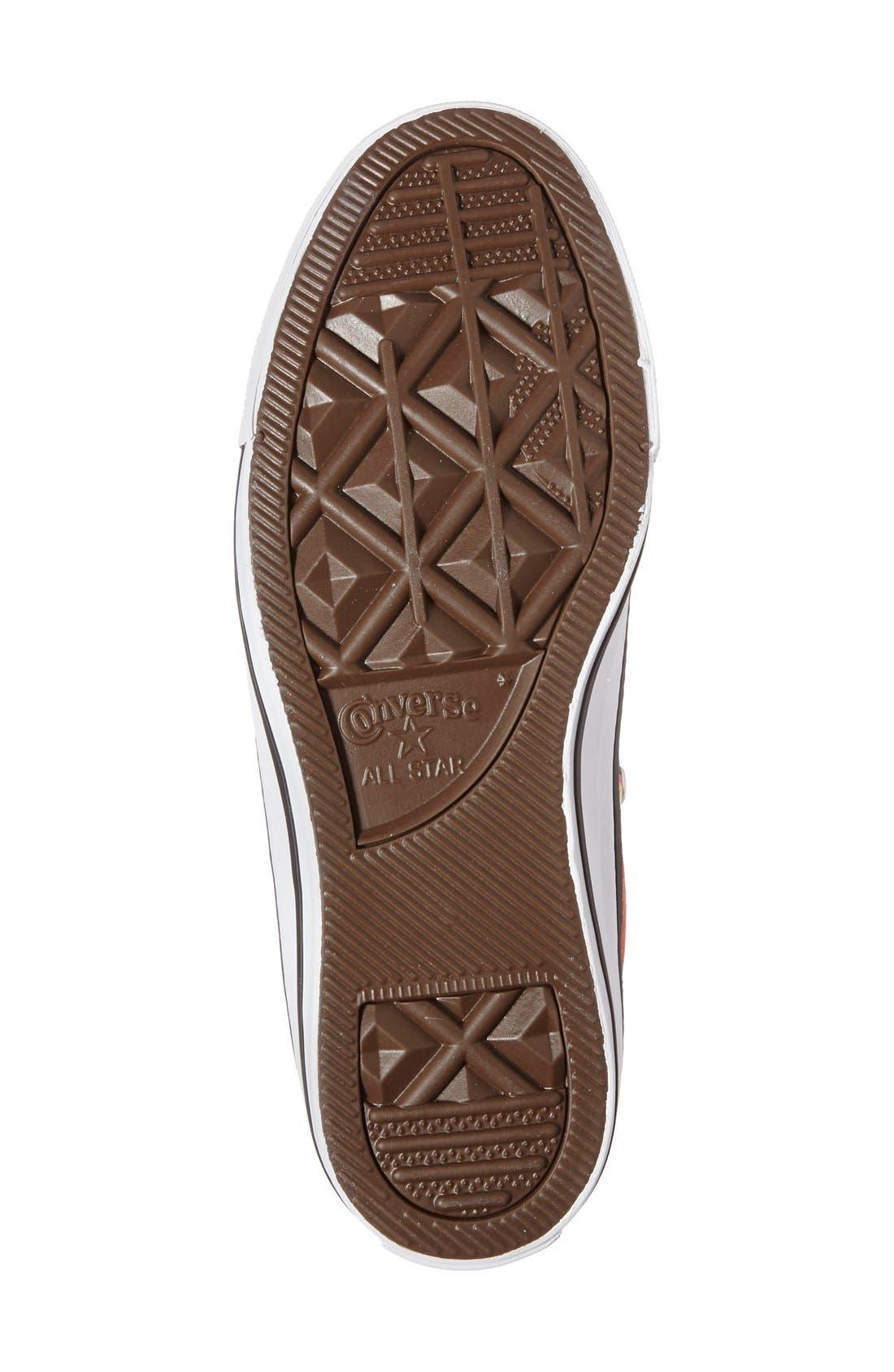 Alternate Image 4  - Converse Chuck Taylor® All Star® Grapefruit Print High Top Sneaker (Women)