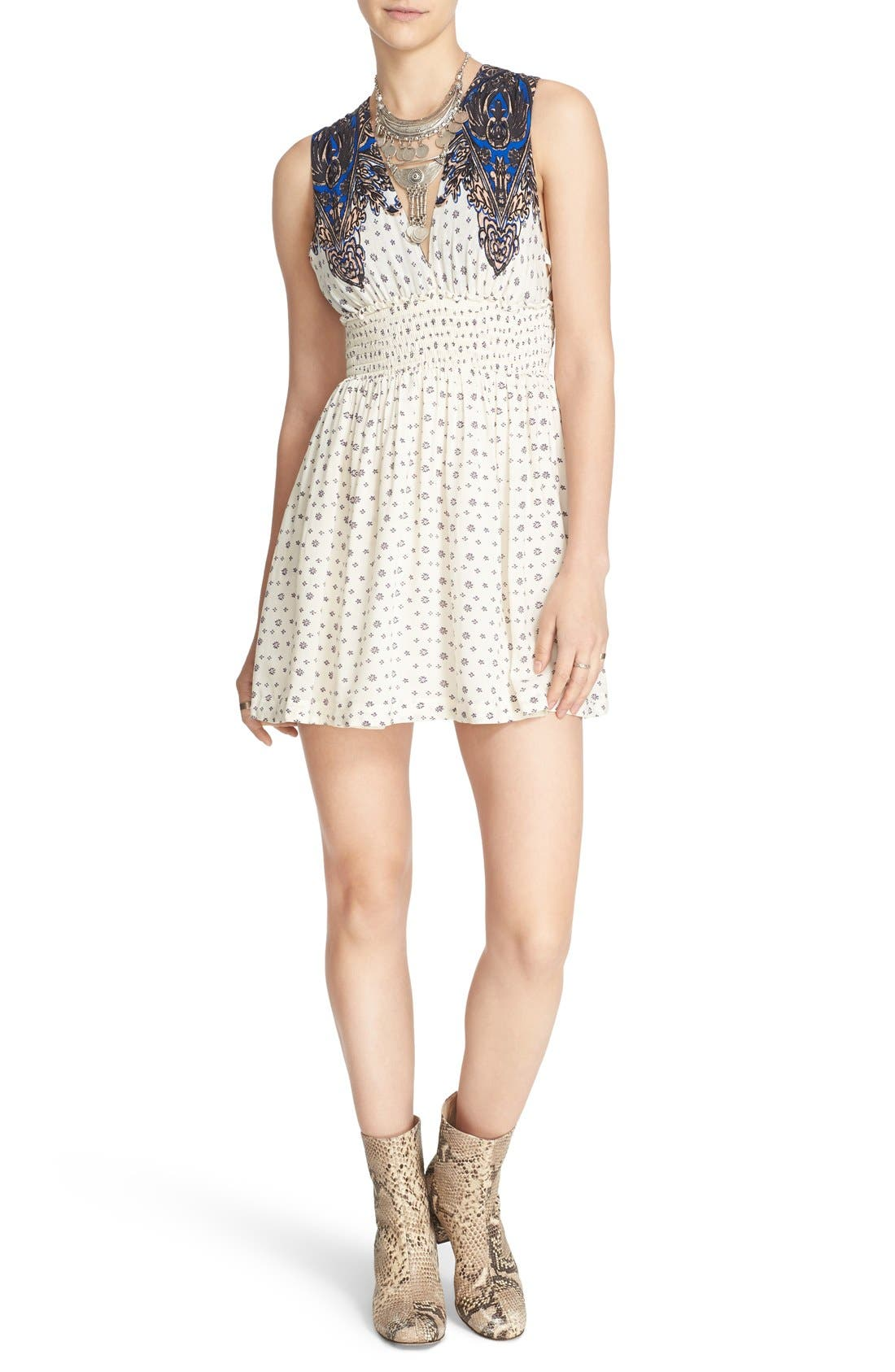 Main Image - Free People 'Walking Through Dreams' Fit & Flare Dress
