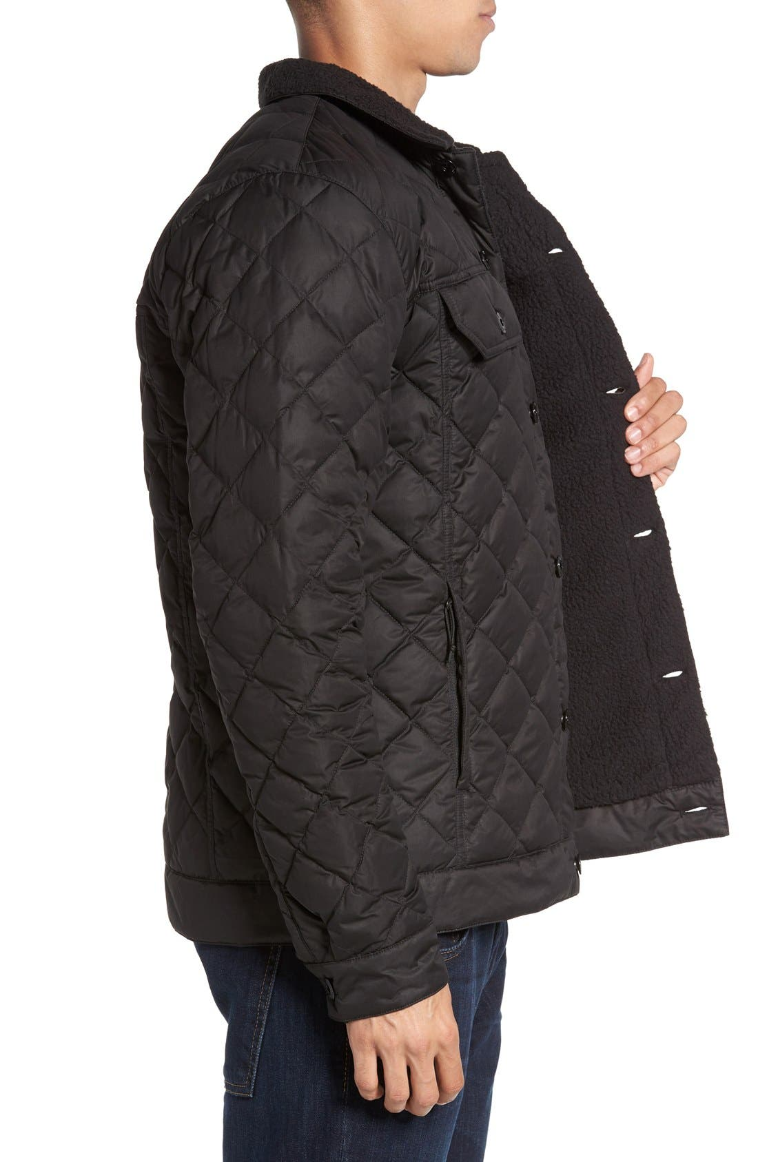 Alternate Image 3  - The North Face Sherpa Fleece Lined Quilted Jacket