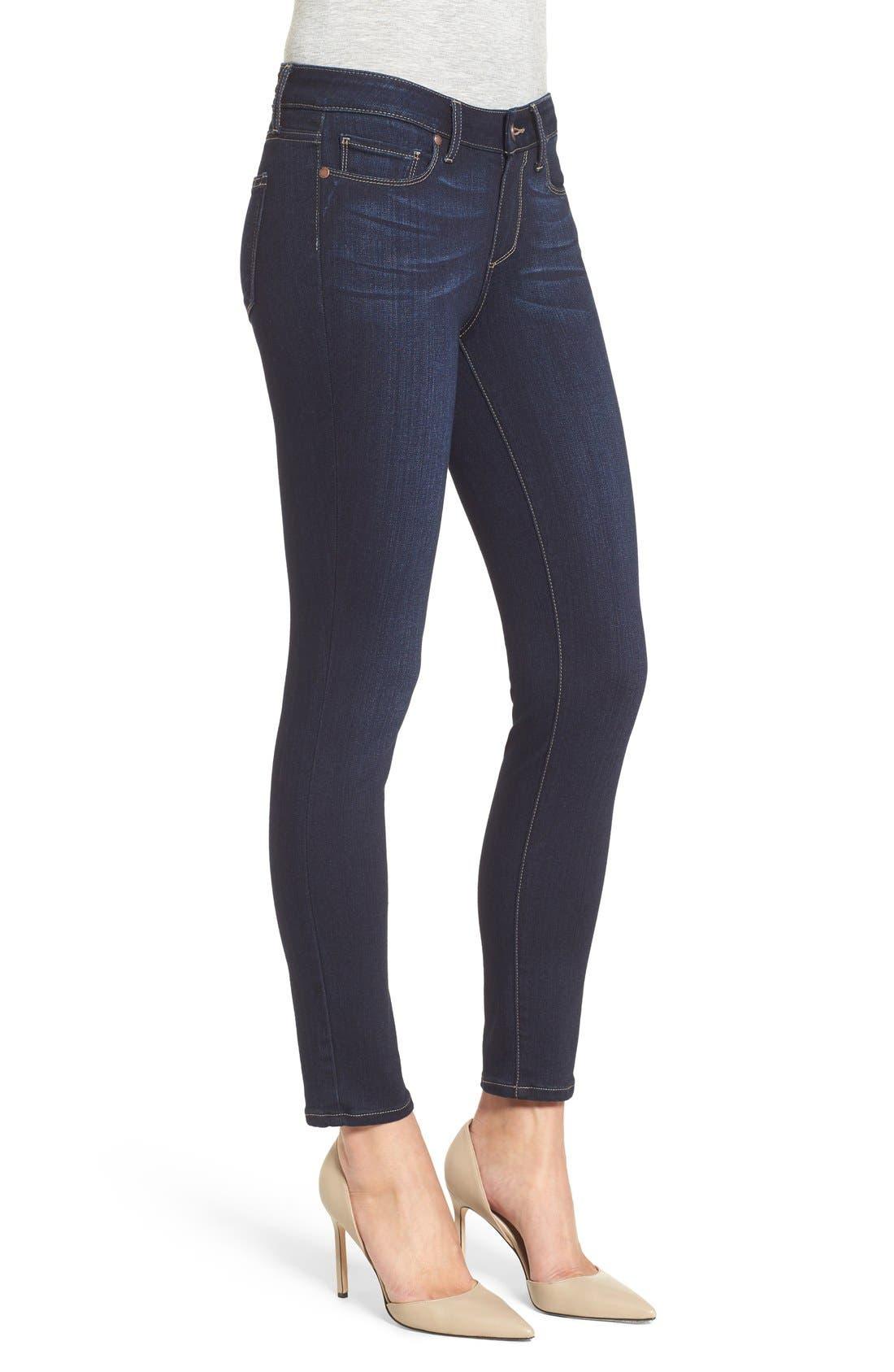 Alternate Image 4  - PAIGE 'Transcend - Verdugo' Ankle Skinny Jeans (Tari)
