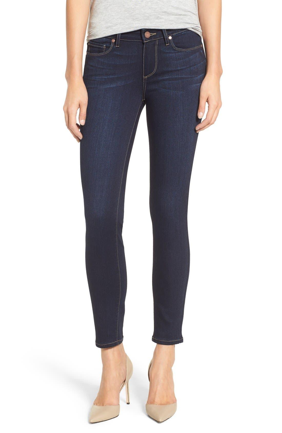 Main Image - PAIGE 'Transcend - Verdugo' Ankle Skinny Jeans (Tari)