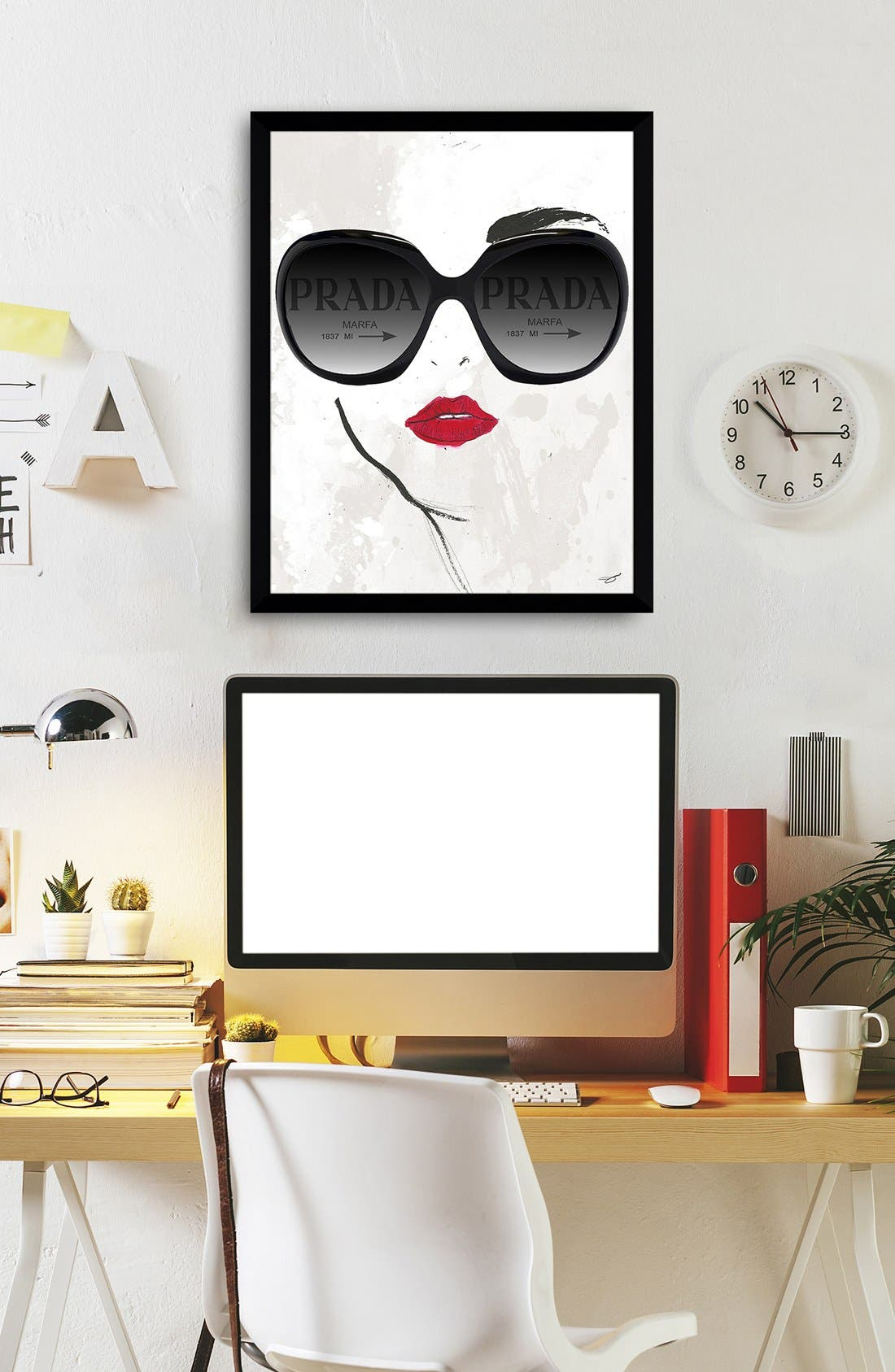 Alternate Image 3  - Picture Perfect 'Prada Sunnies' Fine Art Print