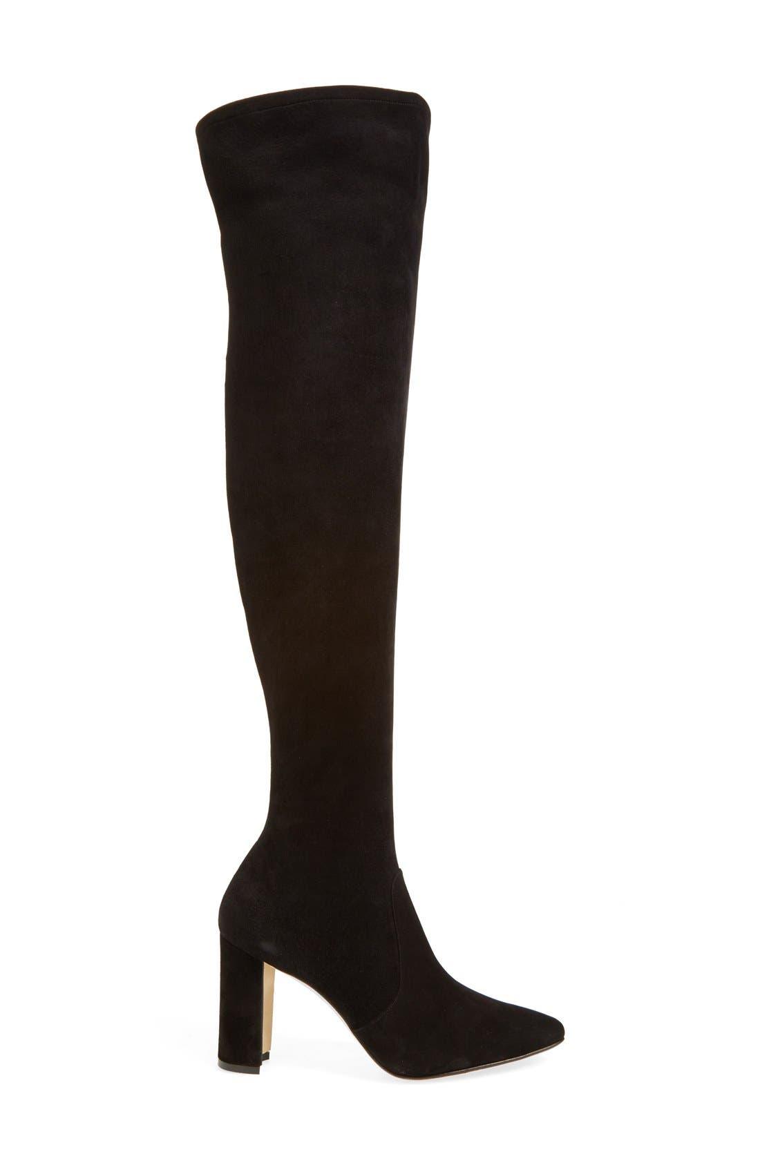 Alternate Image 4  - Manolo Blahnik 'Pascalla' Over the Knee Boot (Women)