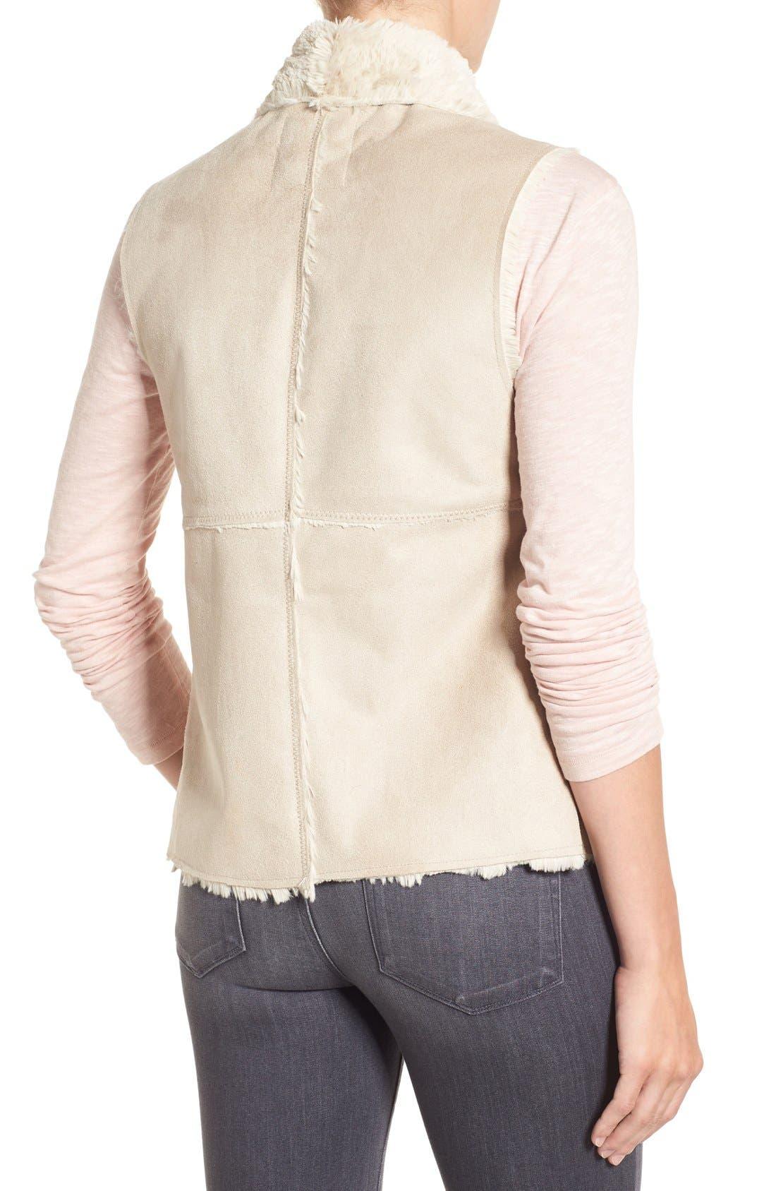Alternate Image 2  - Dylan 'Madison' Faux Shearling Vest