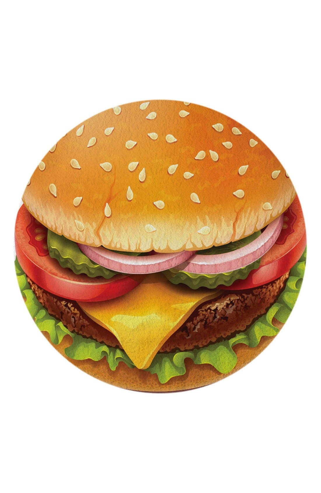 Round Towel Co. 'Cheeseburger' Round Towel
